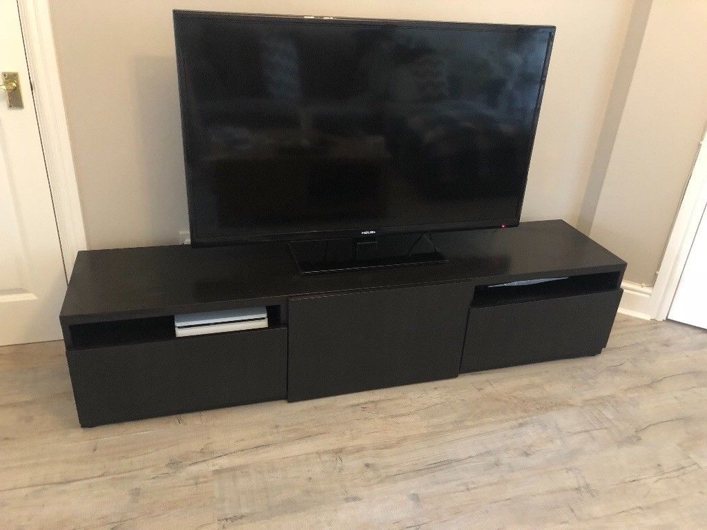 Gumtree Pertaining To Most Current Dark Tv Stands (View 11 of 20)