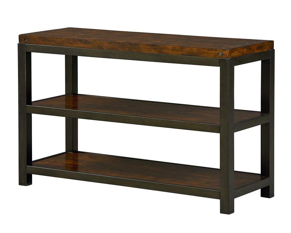 Gunmetal Media Console Tables Within Favorite Mckenzie Console Table (Gallery 14 of 20)