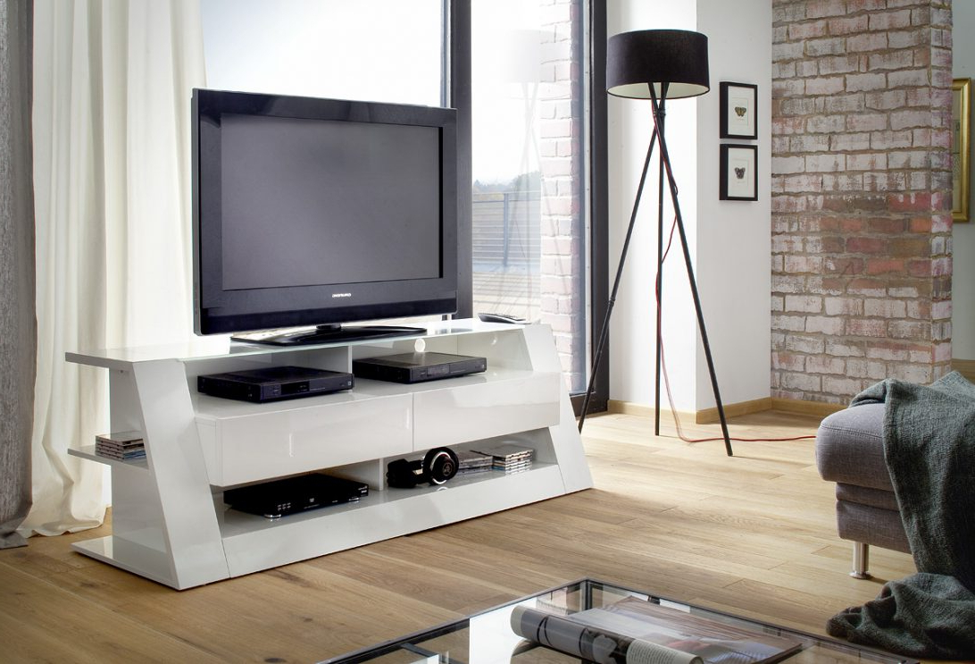 High Corner Tv Stand White Gloss Cabinet Quality Stands Black Pertaining To Newest White High Gloss Corner Tv Unit (Gallery 13 of 20)