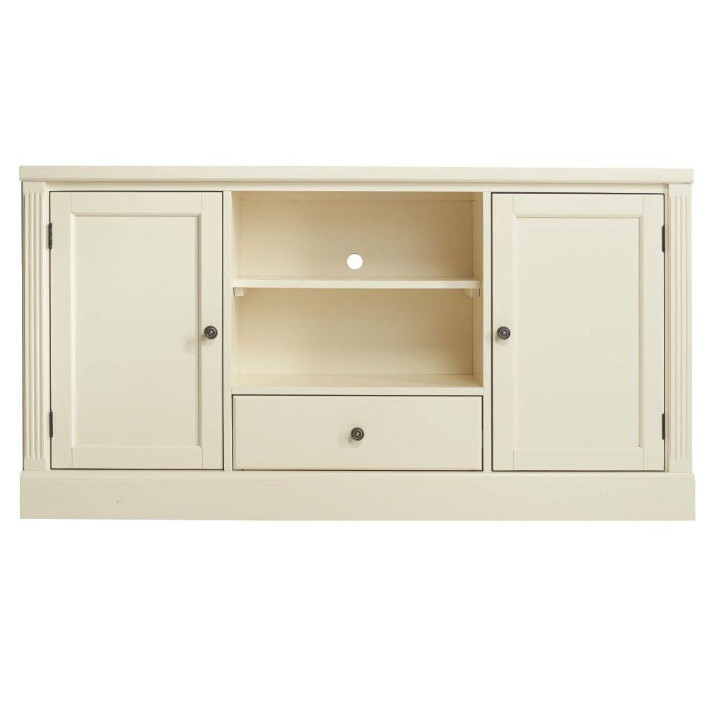 Hillsdale Furniture Edinburgh Ivory Modular Tv Stand 6236 880 – The Pertaining To Most Recently Released Modular Tv Stands Furniture (View 6 of 20)