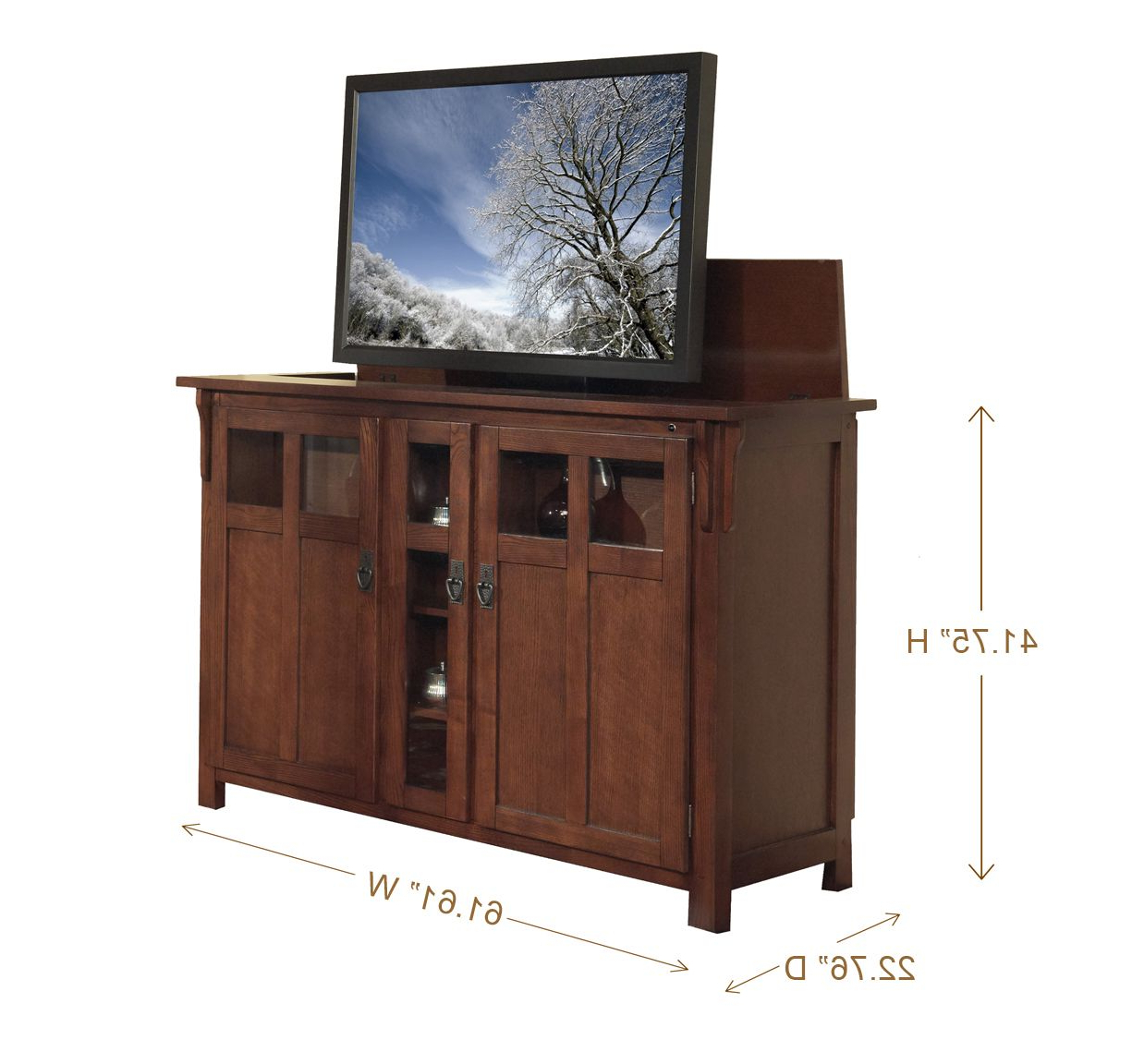 Home Inside Oak Tv Cabinets For Flat Screens (Gallery 12 of 20)