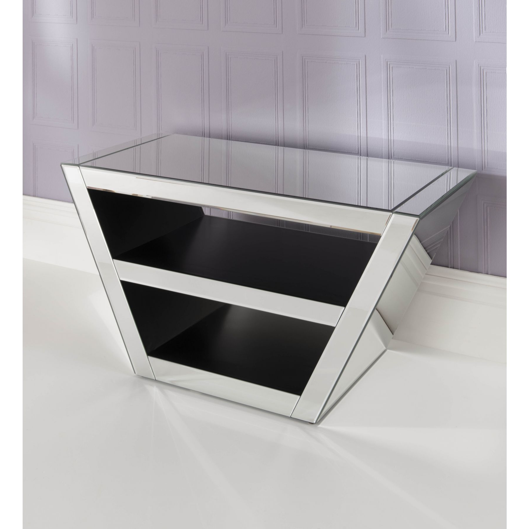 Homesdirect365 Regarding Widely Used Mirrored Tv Stands (View 10 of 20)