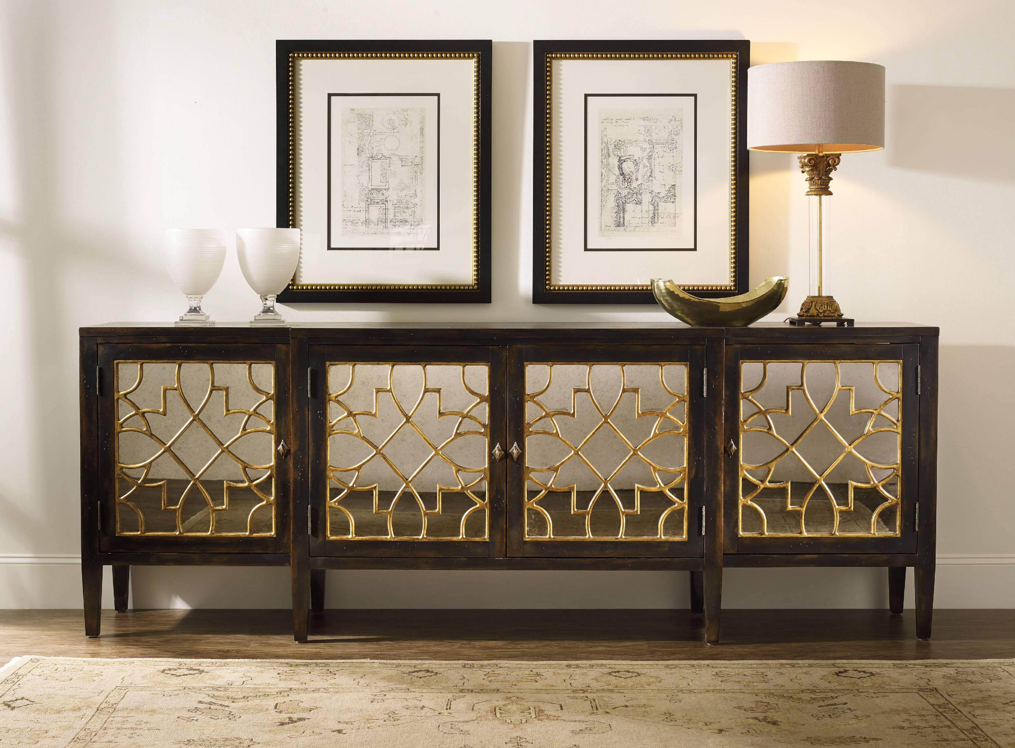 Homesfeed For Well Liked Natural Wood Mirrored Media Console Tables (Gallery 5 of 20)