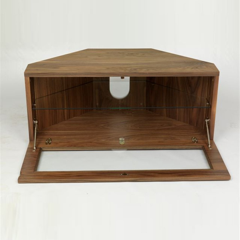Iconic Man2 Uk Wncab Manzini Walnut Vaneer W1000xd495xh440 – Tv Within Fashionable Iconic Tv Stands (Gallery 4 of 20)