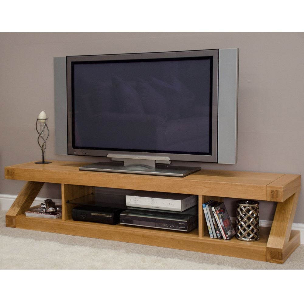 Ideal Oak Tv Stand For Flat Screen — Home Decorcoppercreekgroup Within Most Up To Date Wooden Tv Stands For Flat Screens (Gallery 4 of 20)