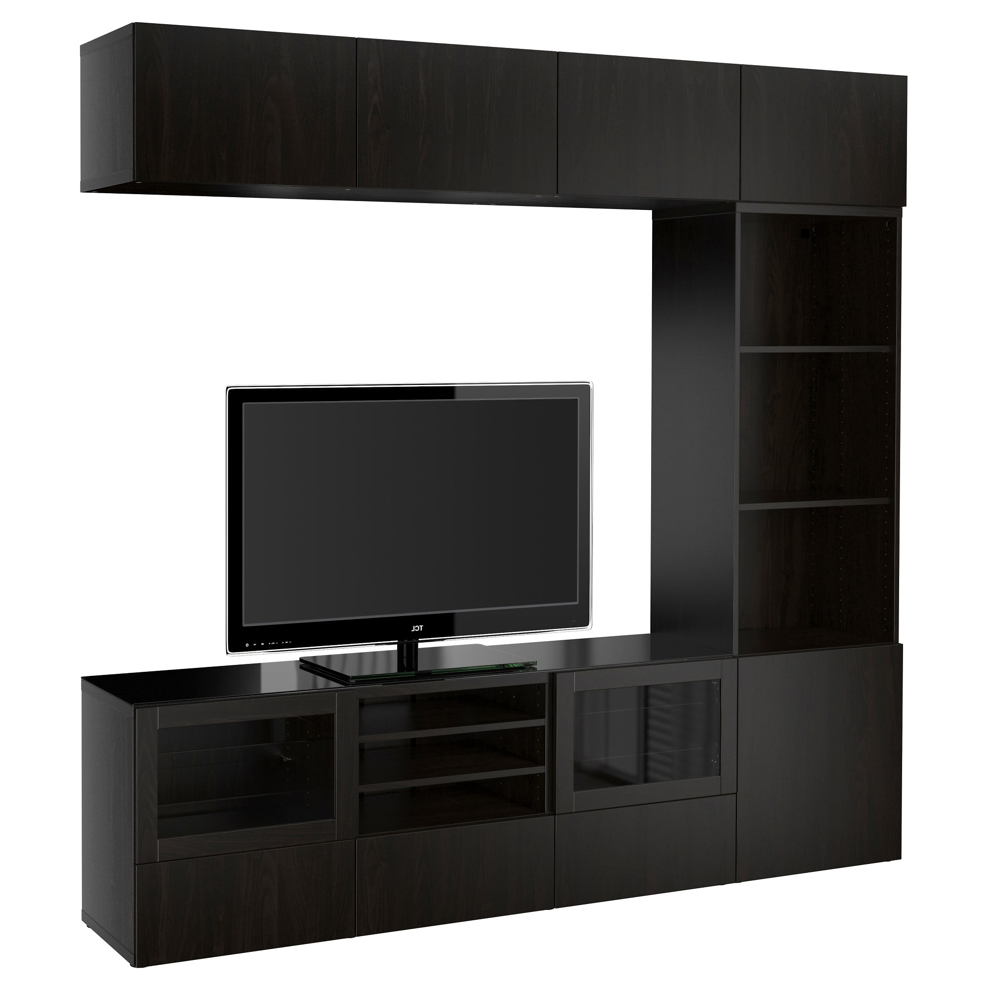 Ikea Inside Trendy Black Tv Cabinets With Drawers (View 8 of 20)