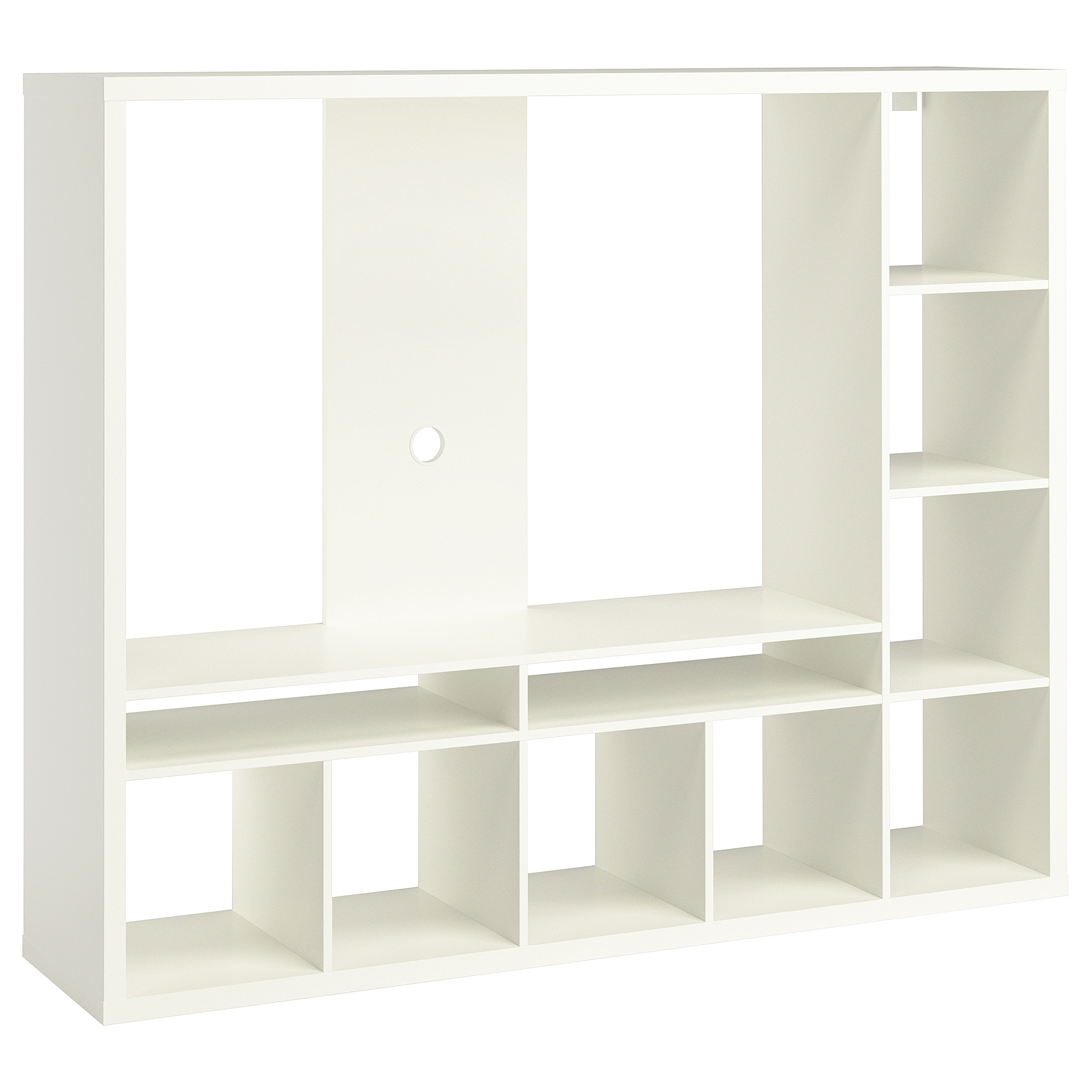 Ikea White Gloss Tv Units Throughout Well Known Lappland Tv Storage Unit White 183 X 39 X 147 Cm – Ikea (Gallery 16 of 20)