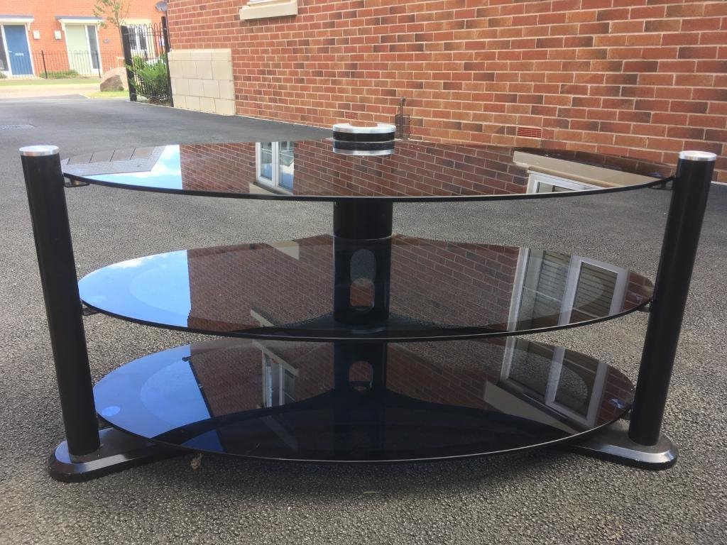 In Bishops Cleeve Regarding Oval Glass Tv Stands (Gallery 15 of 20)