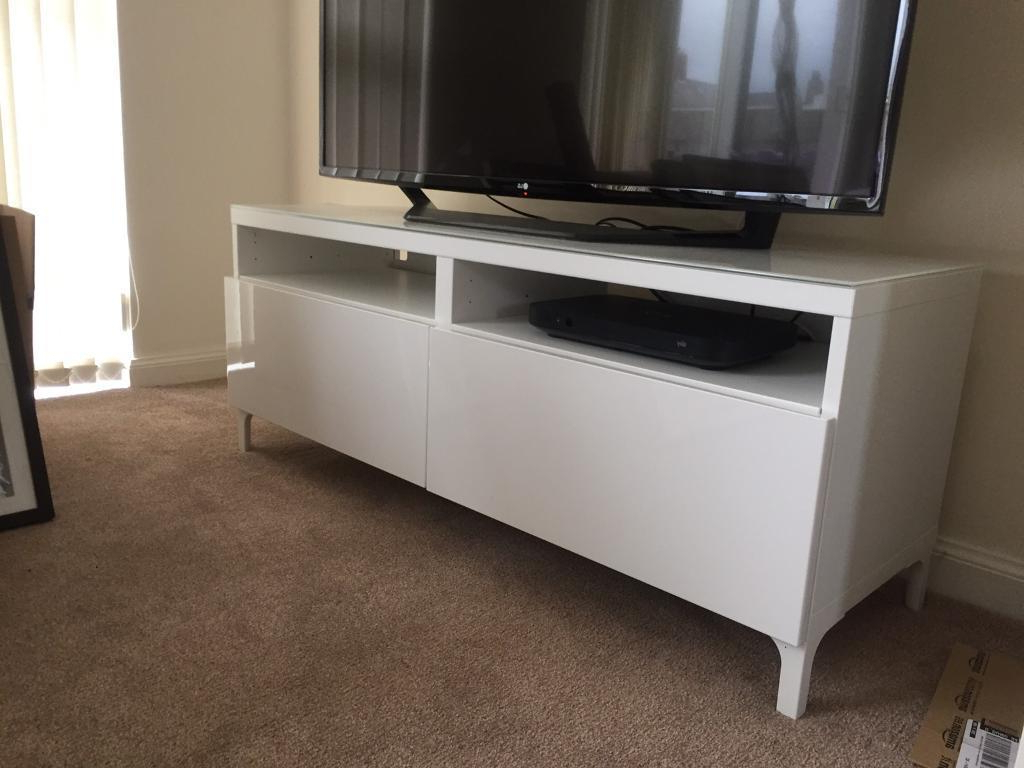In Carnoustie Inside Ikea White Gloss Tv Units (Gallery 15 of 20)