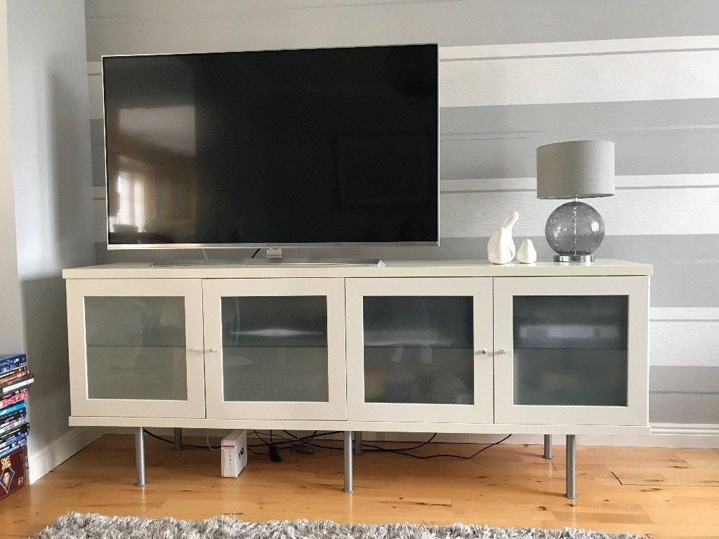 In Cumbernauld For Glass Fronted Tv Cabinet (Gallery 5 of 20)