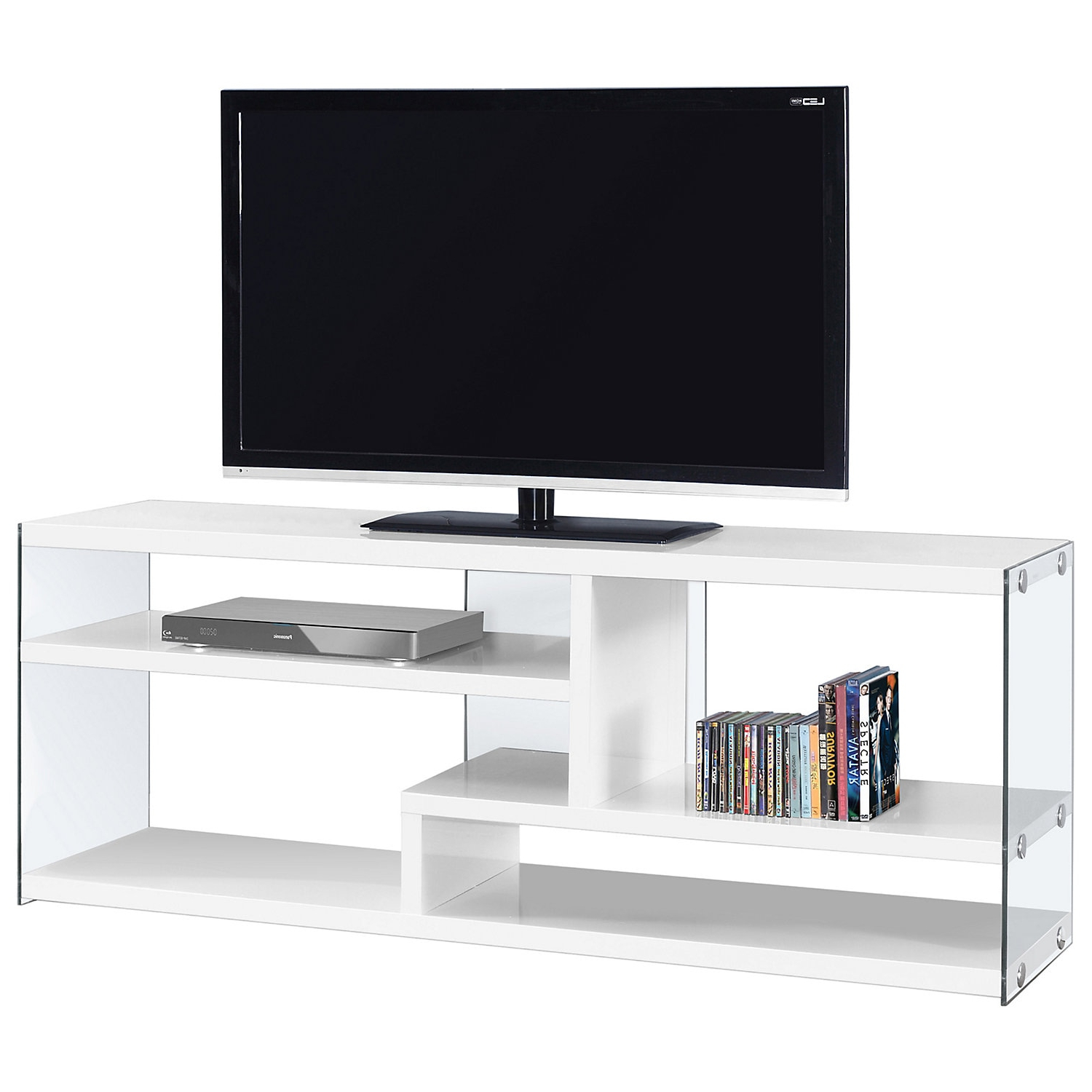 In Glossy White Tv Stands (View 13 of 20)