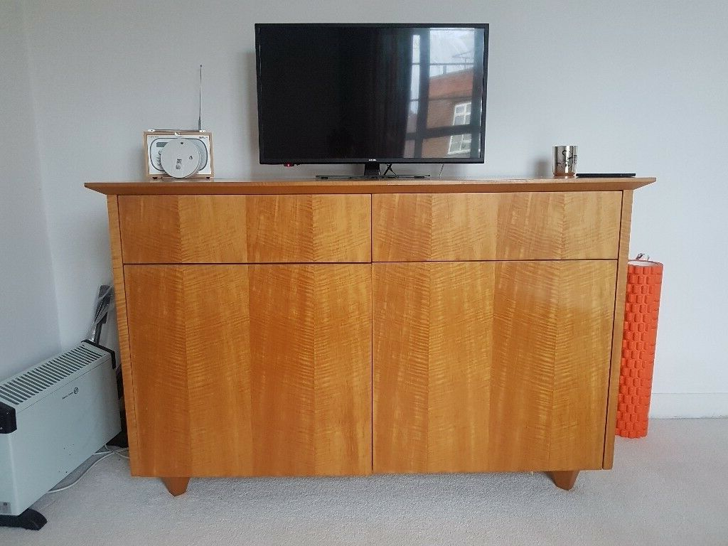 In Hampstead, London With Fashionable Hardwood Tv Stands (View 8 of 20)