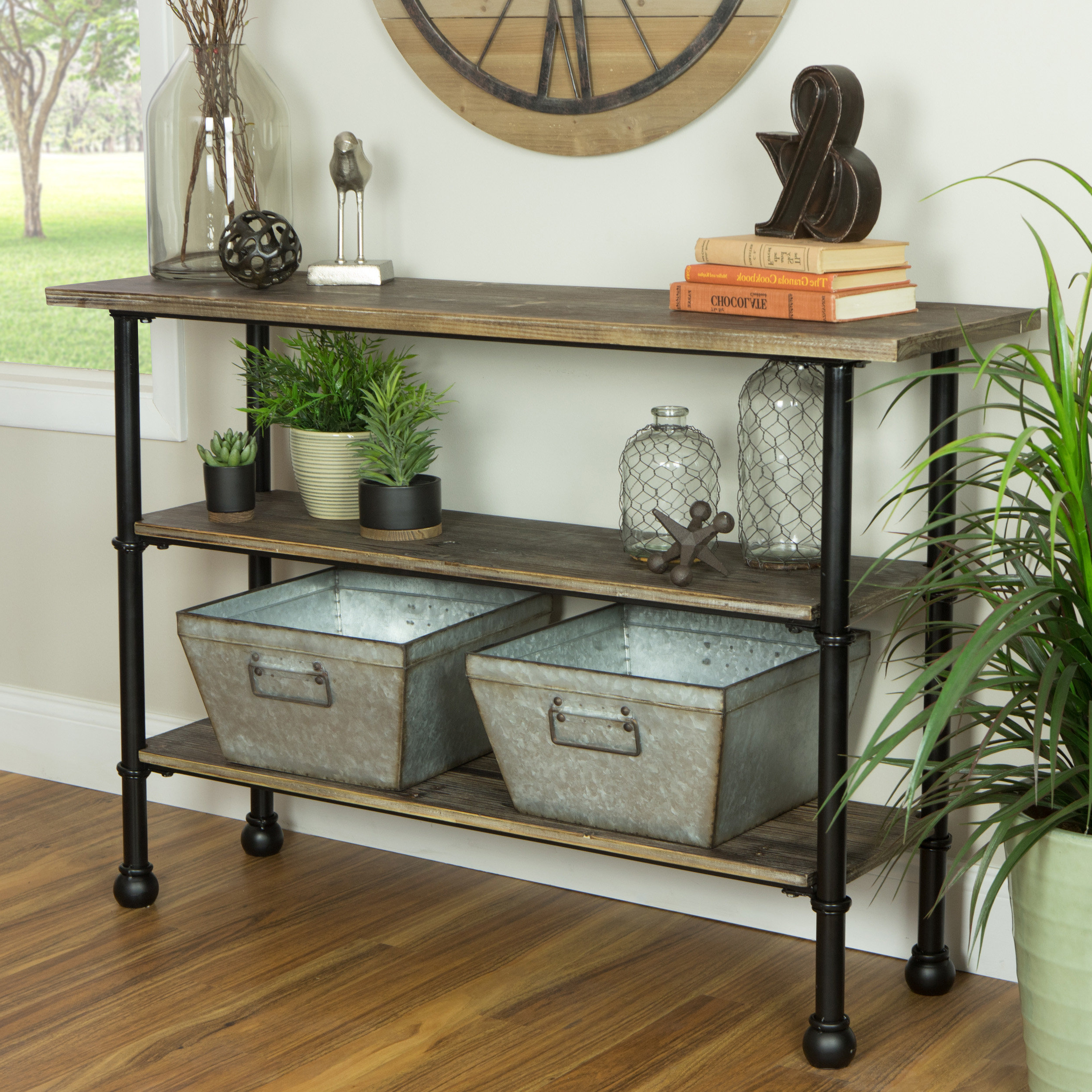 Industrial Console Tables You'll Love (Gallery 7 of 20)