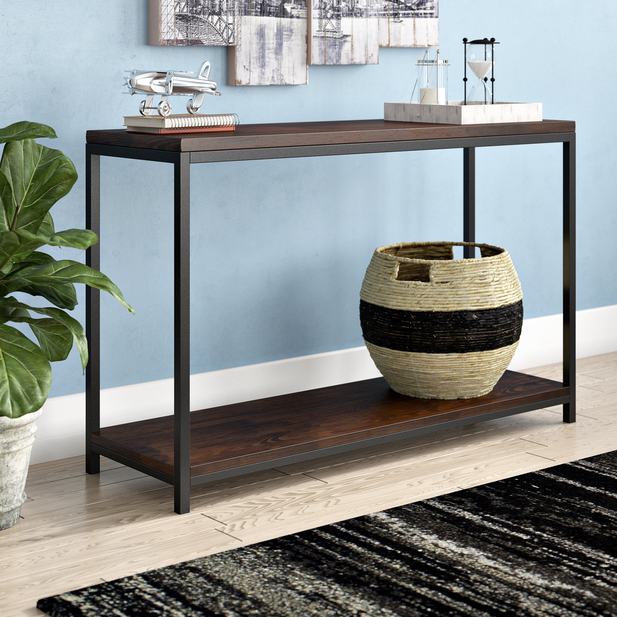 Industrial Console Tables You'll Love (View 1 of 20)