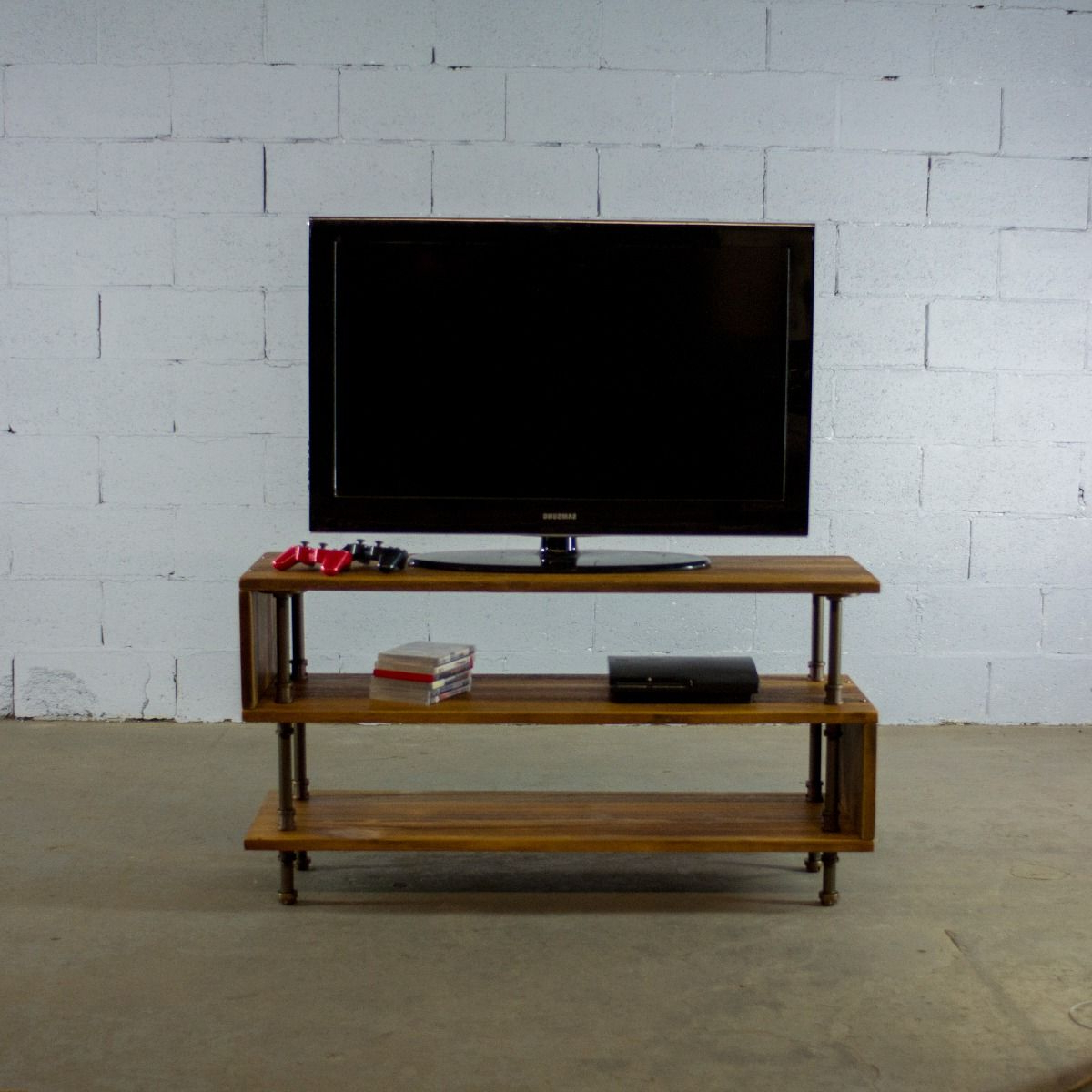 Industrial Metal Tv Stands Within Trendy Tucson Industrial Tv Stand (View 7 of 20)