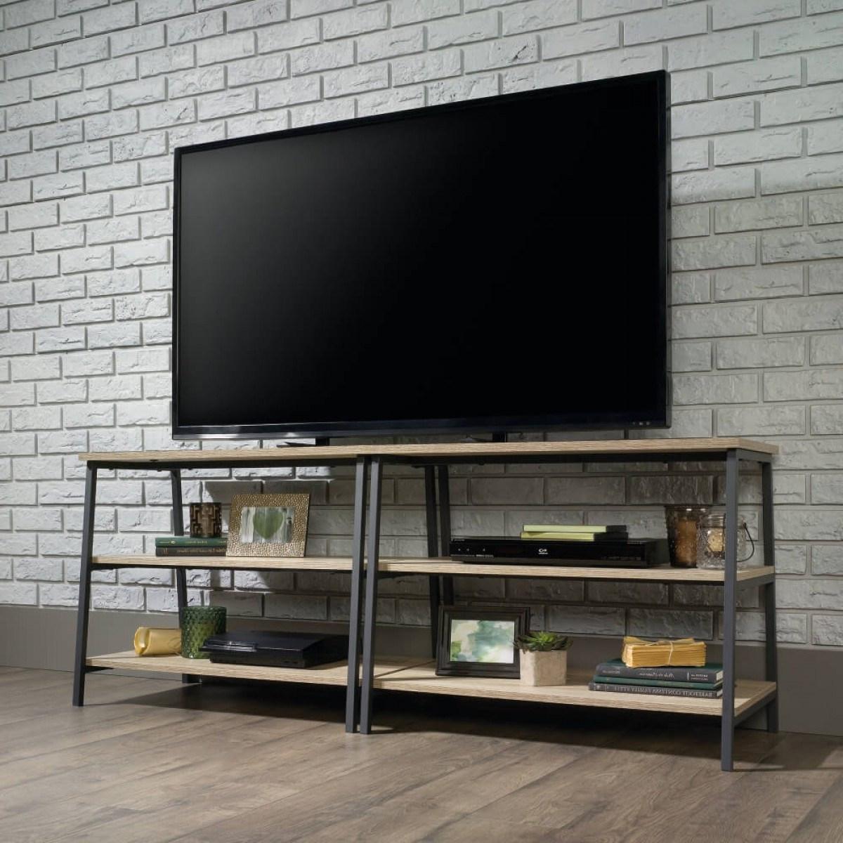 Industrial Style Tv Stands Within Favorite Tv Stands – Industrial Style Oak Tv Stand (View 12 of 20)