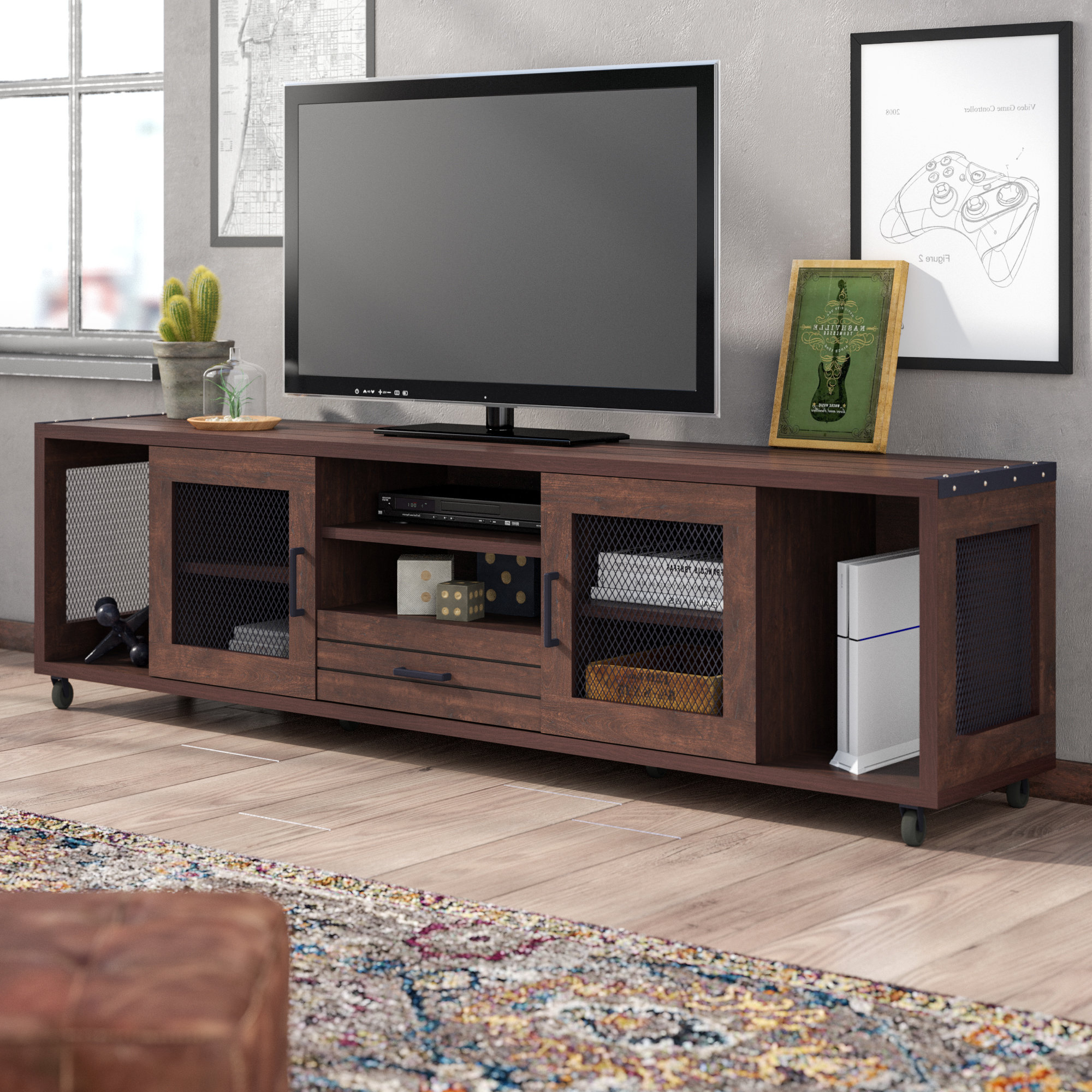 Industrial Tv Stands You'll Love (View 13 of 20)