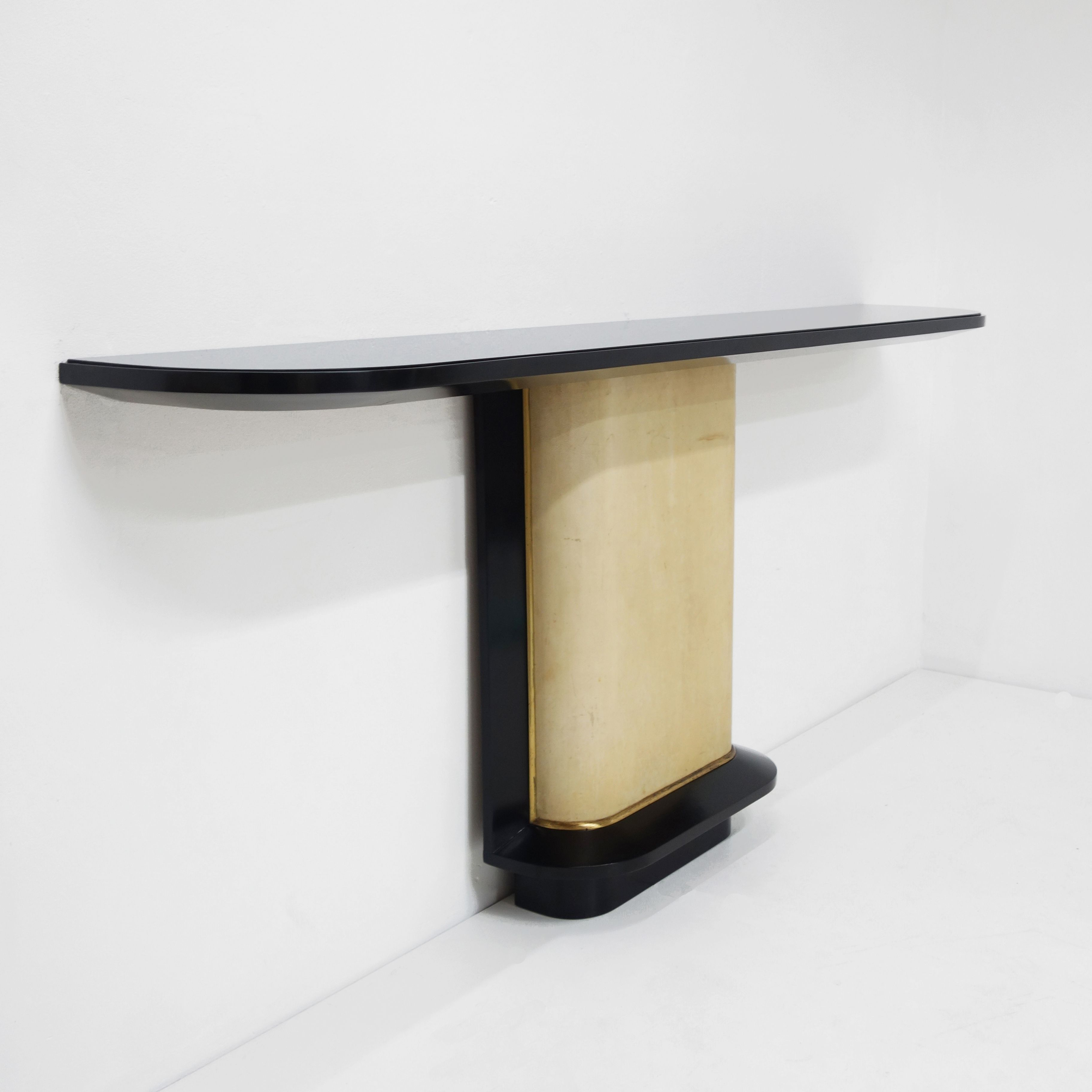 Jacques Adnet, Rare Console (View 2 of 20)