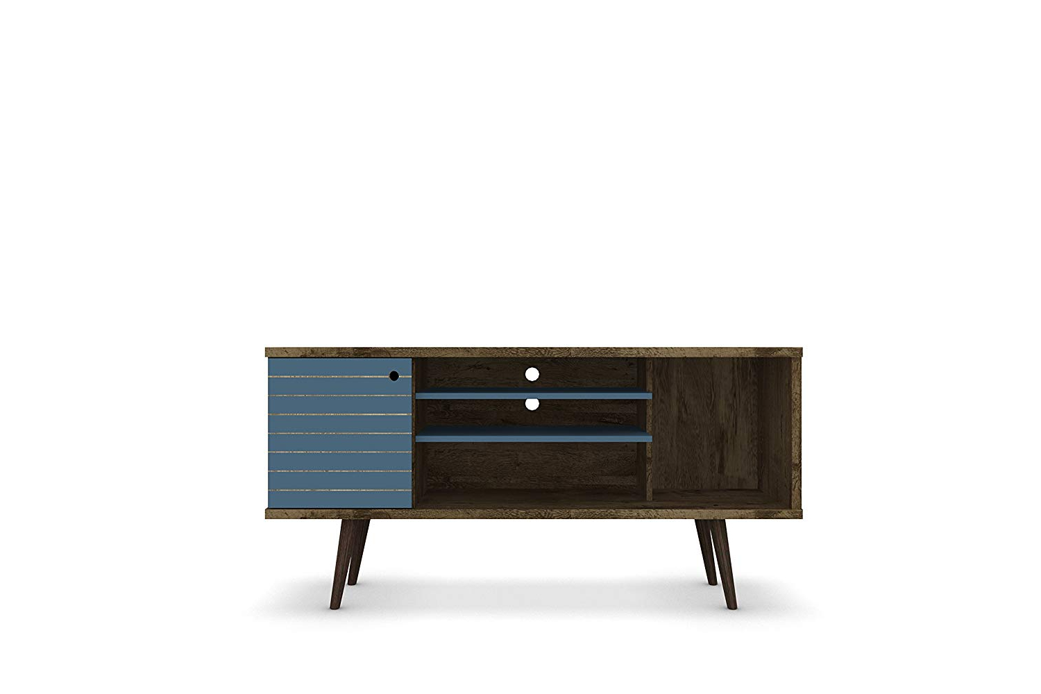 Jaxon 71 Inch Tv Stands Within Most Recently Released Amazon: Manhattan Comfort Liberty Collection Mid Century Modern (View 6 of 20)