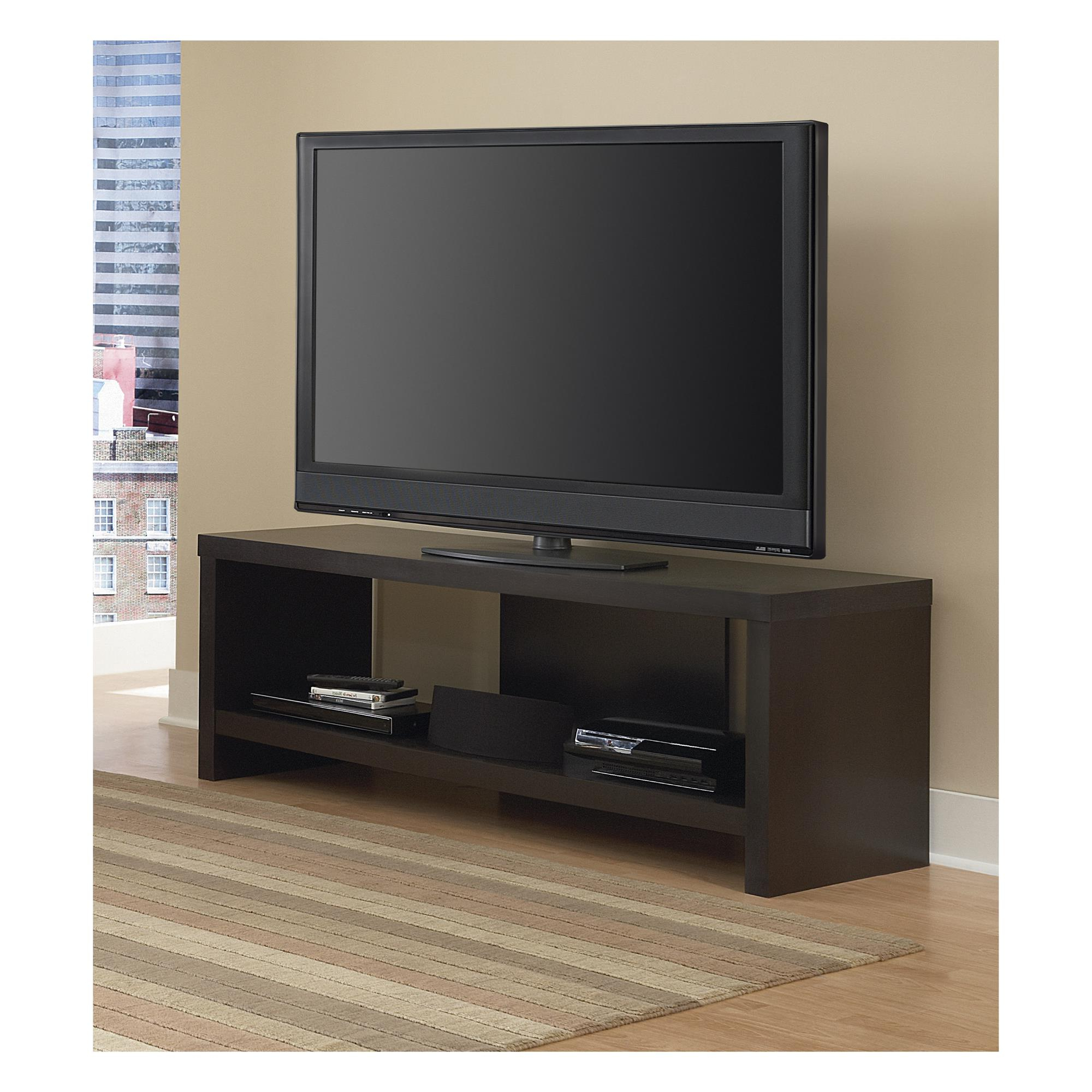 "Jensen Tv Stand For Tvs Up To 60"", Espresso (Gallery 10 of 20)"