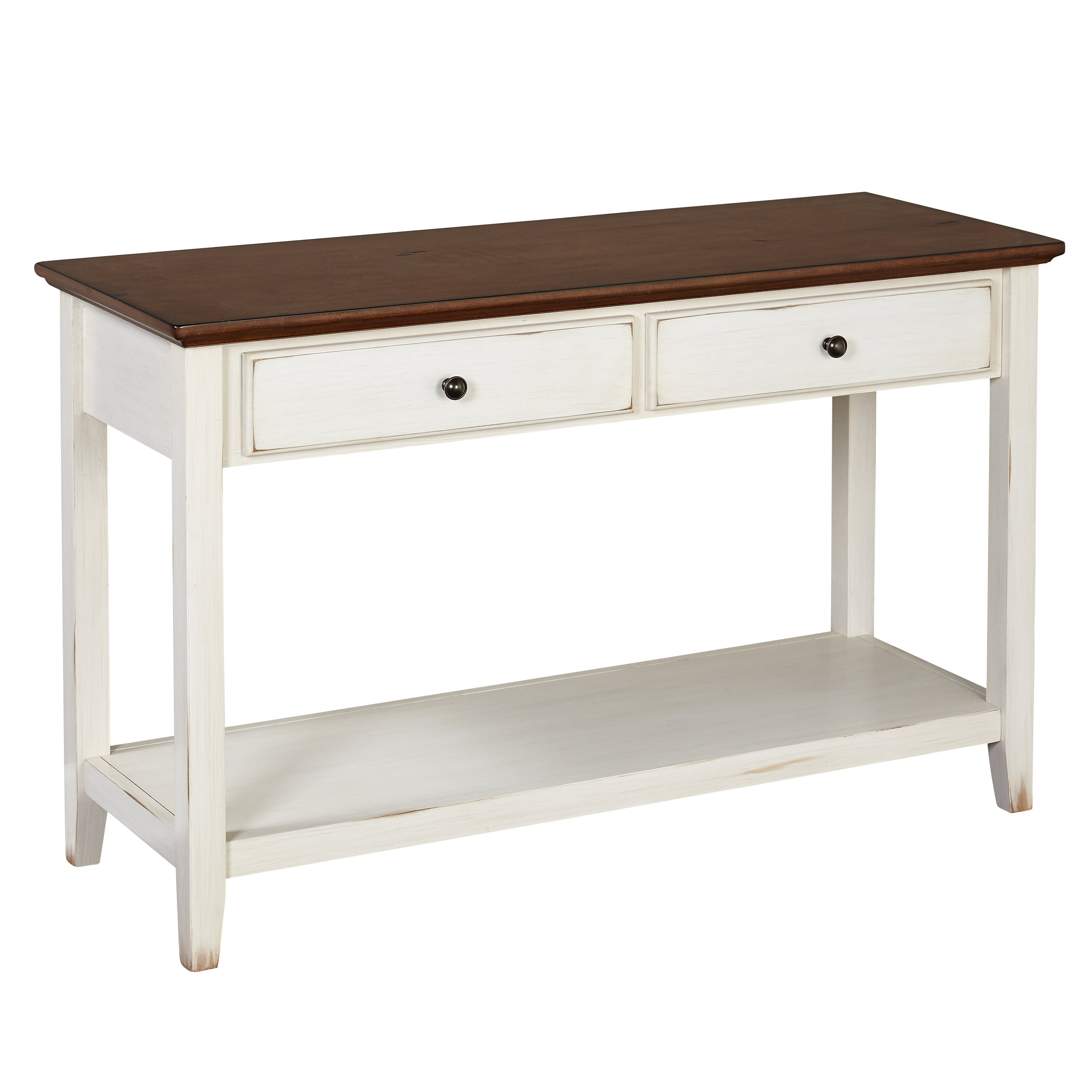 Joss & Main Pertaining To Most Popular Antique White Distressed Console Tables (View 9 of 20)