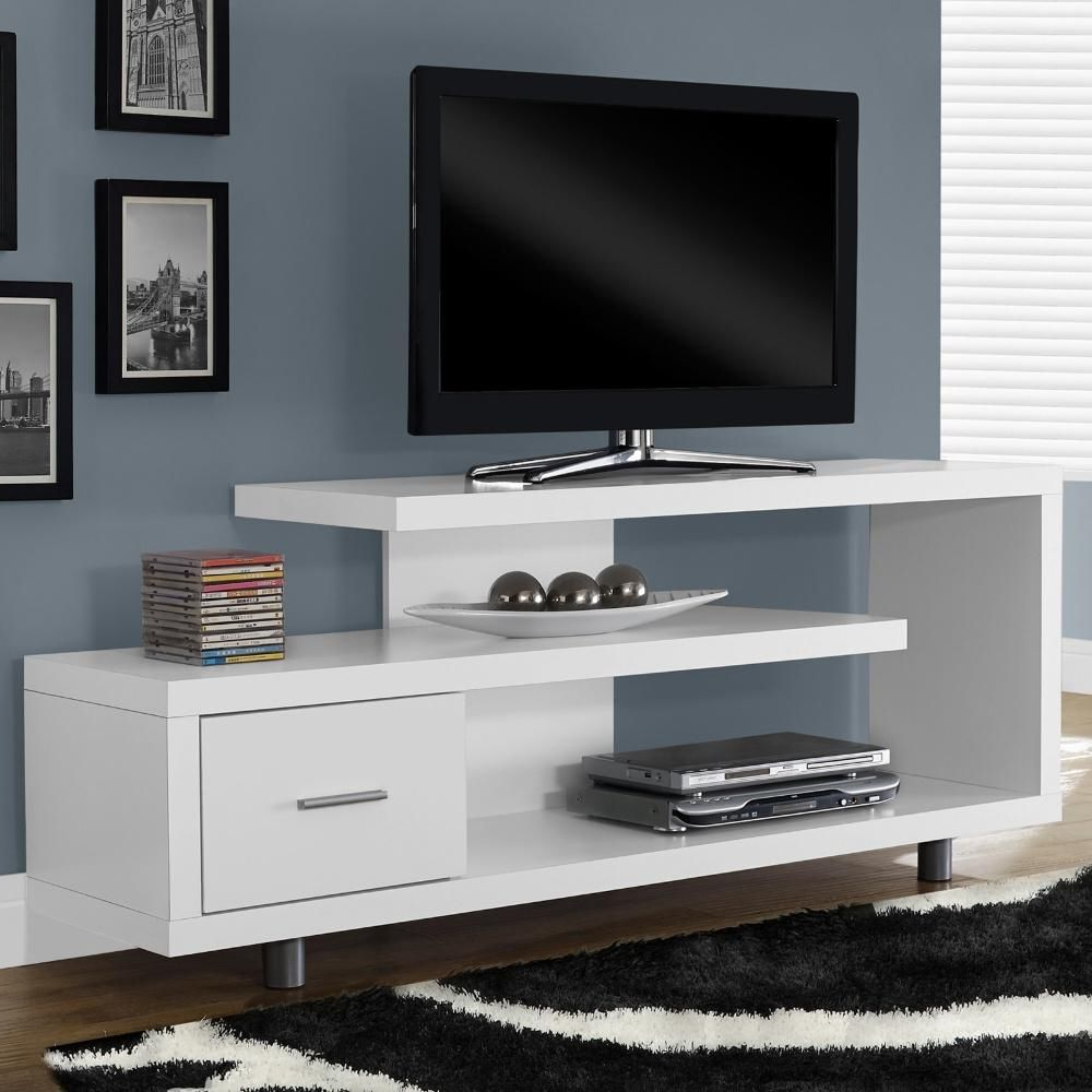 Kenzie 60 Inch Open Display Tv Stands Regarding Recent This Functional And Beautiful Tv Stand Gives Your Home A Modern Look (View 5 of 20)
