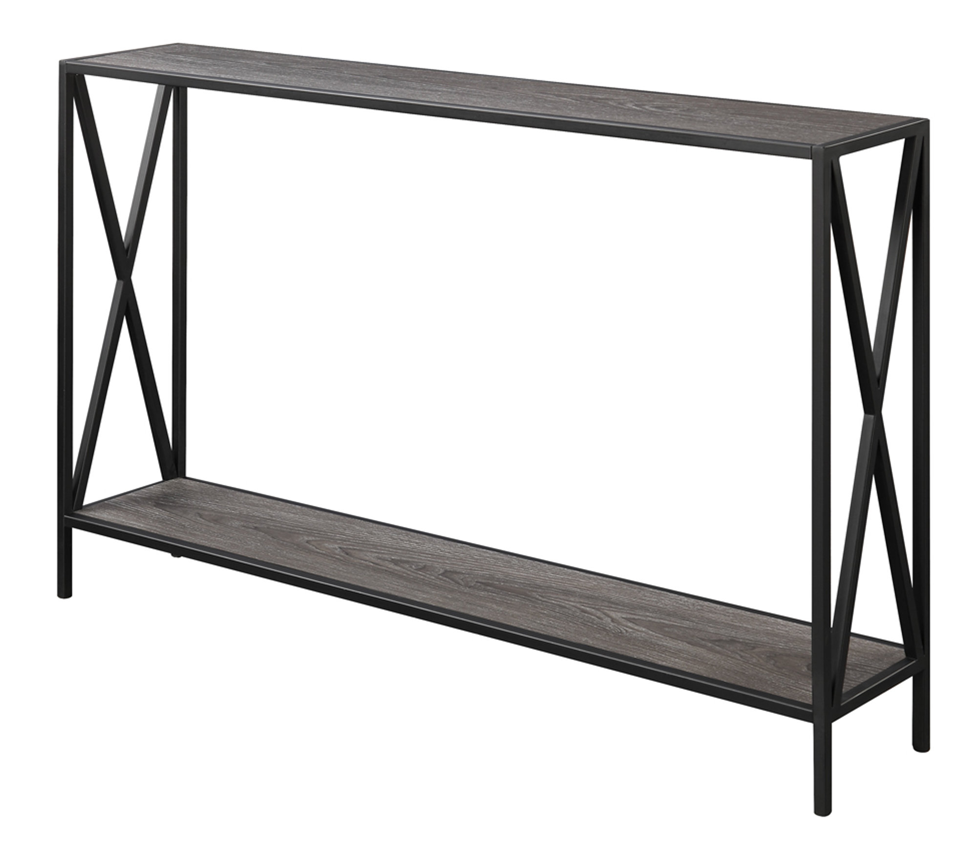 Latest Abbottsmoor Metal Frame Console Table & Reviews (Gallery 11 of 20)