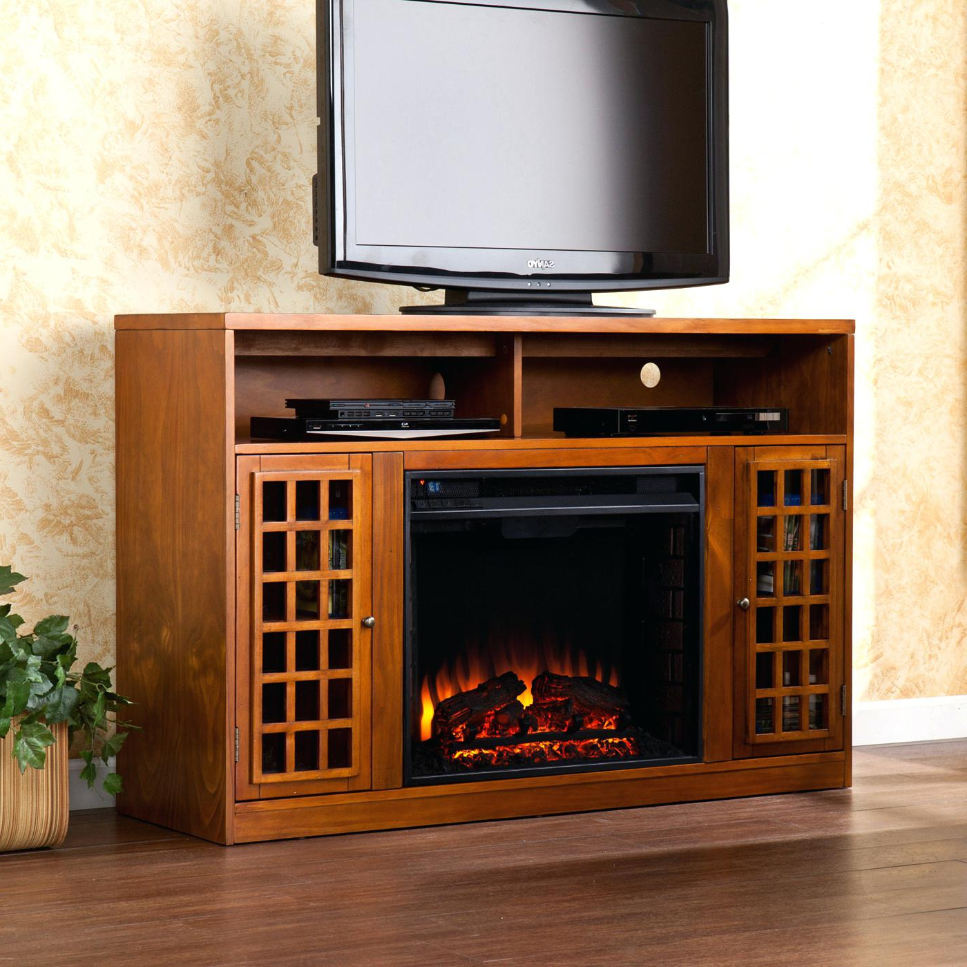 Latest Big Lots Tv Stands Pertaining To Fireplace Tv Stand Big Lots Rtlecanlv Corner Fake (View 9 of 20)