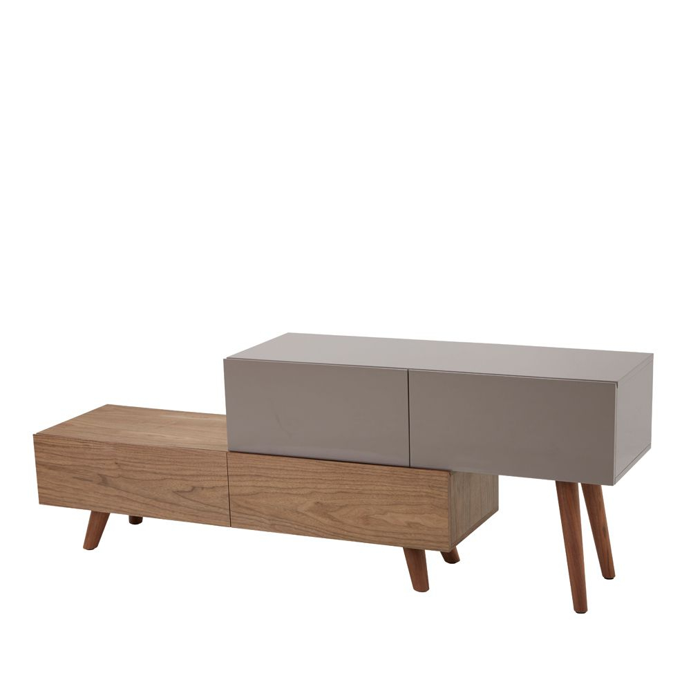 Latest Dwell Tv Stands Intended For Riven Tv Unit Stone – Dwell (Gallery 1 of 20)