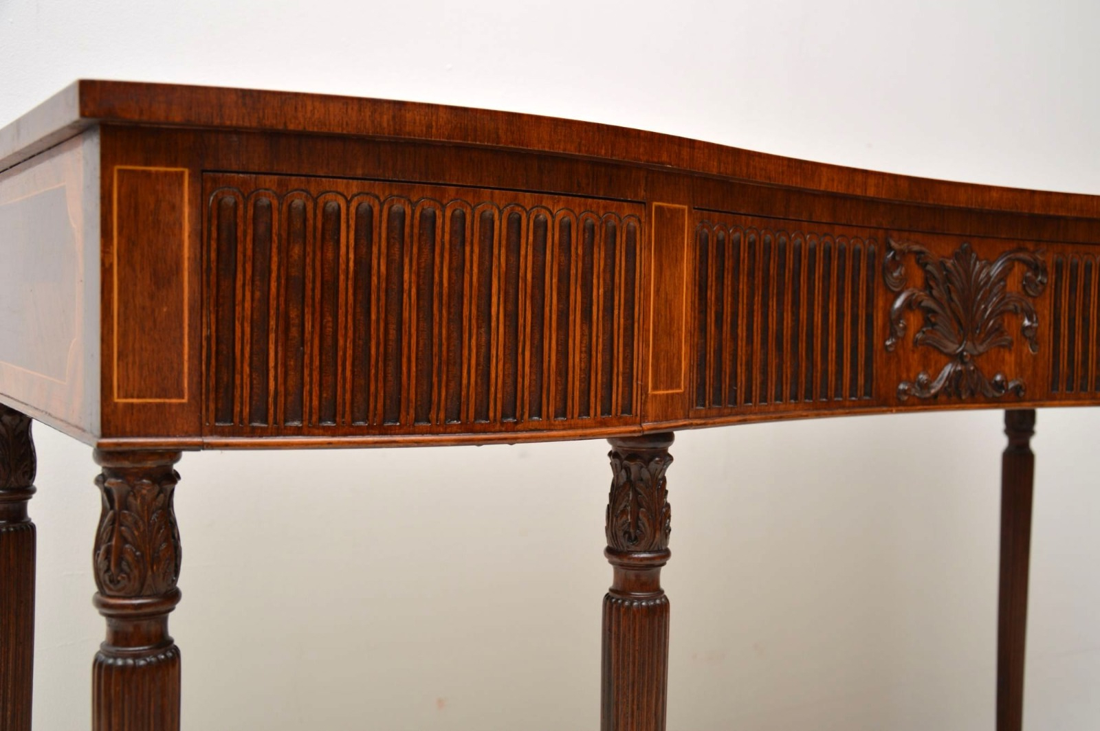 Latest Inlaid Mahogany & Kingwood Server Console Table C (View 7 of 20)