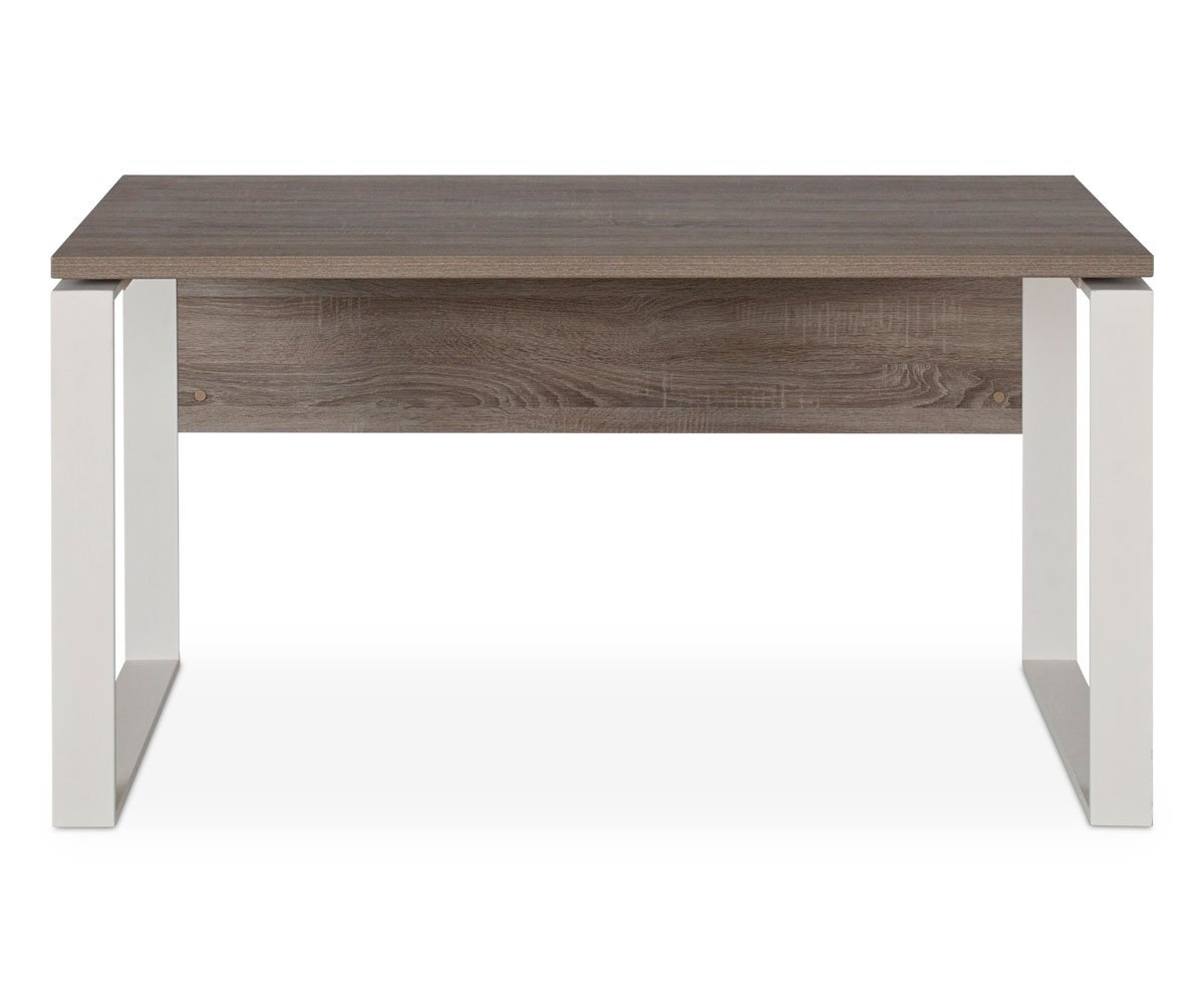 """Latest Parsons Concrete Top & Stainless Steel Base 48x16 Console Tables With Gammel 55"""" Desk (Gallery 9 of 20)"""