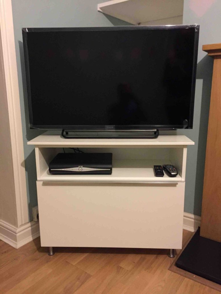 Latest Radiator Cover Tv Stands Intended For 16 Diy Ikea Tv Stands And Units With Hacks – Shelterness (Gallery 17 of 20)