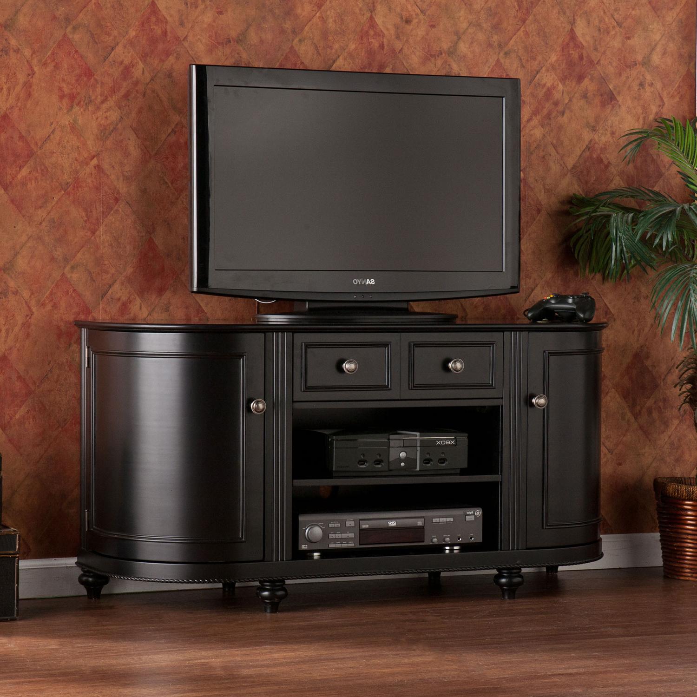 Latest Southern Enterprises Dandridge Black Tv Stand Ms (View 7 of 20)