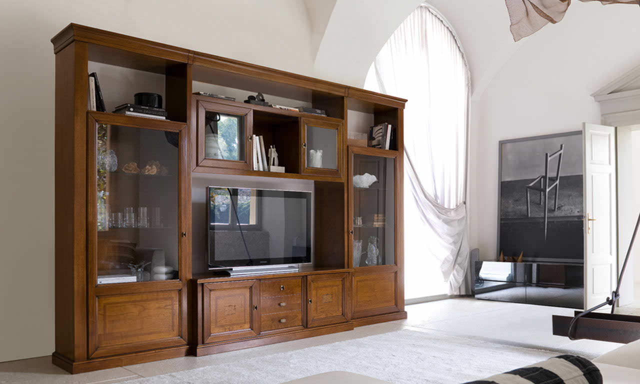 Latest Traditional Tv Cabinets Throughout Traditional Tv Cabinet / Wooden – Artepiergiorgio Pradella (Gallery 1 of 20)