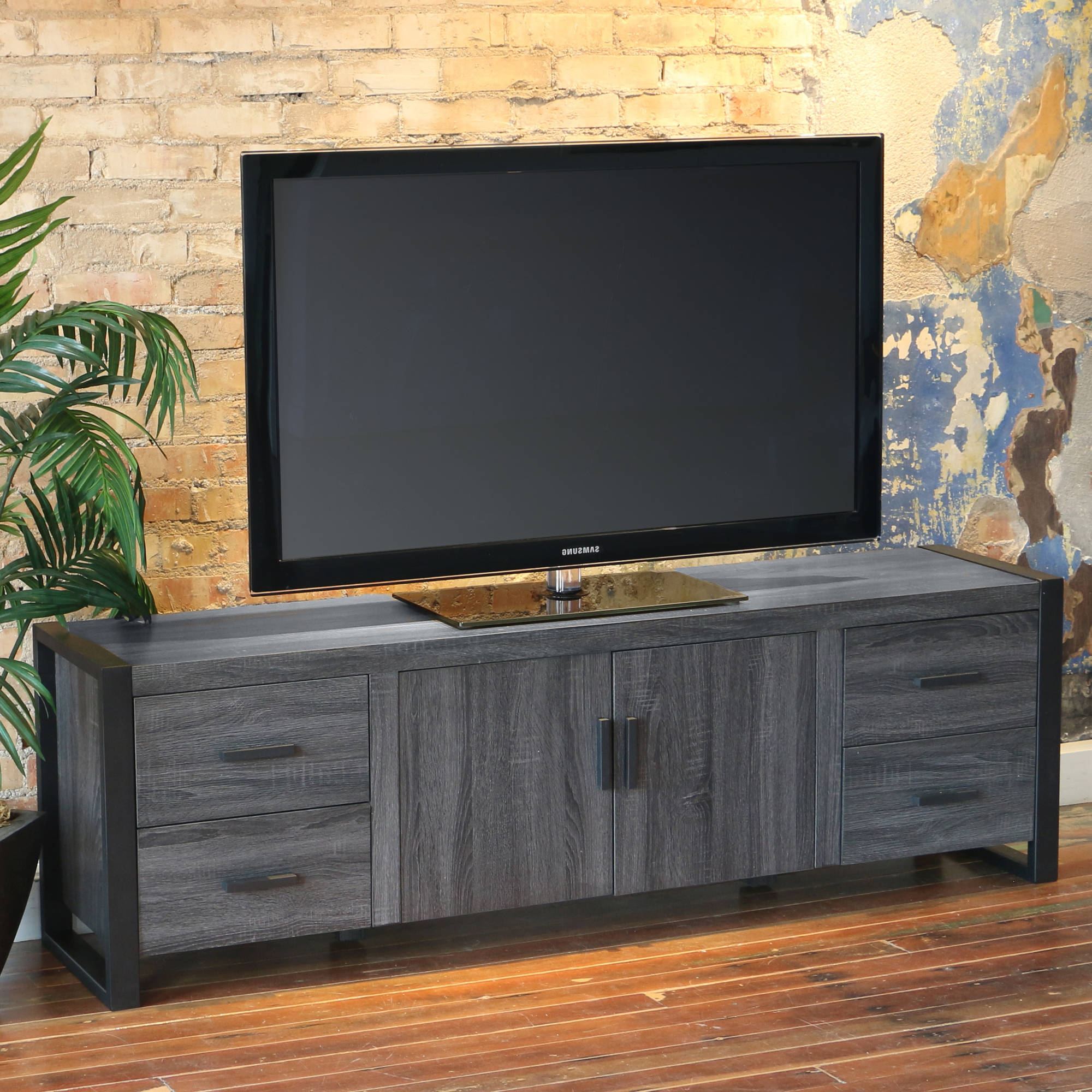 "Latest Walker Edison Reclaimed Wood Tv Stand For Tvs Up To 70"", Multiple In Long Tv Stands Furniture (Gallery 14 of 20)"
