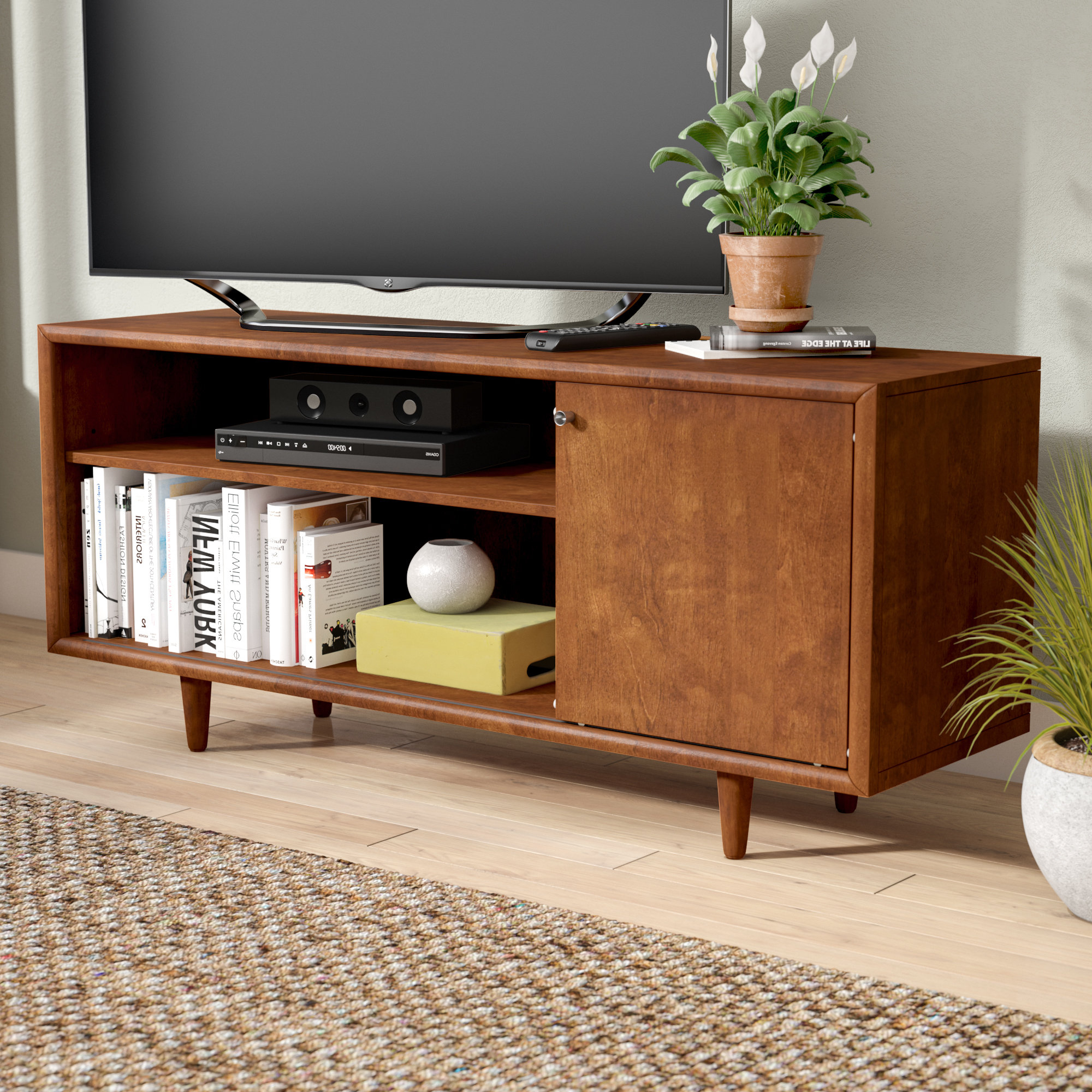 Laurent 50 Inch Tv Stands Pertaining To Well Known Mid Century Modern Tv Stands You'll Love (Gallery 12 of 20)