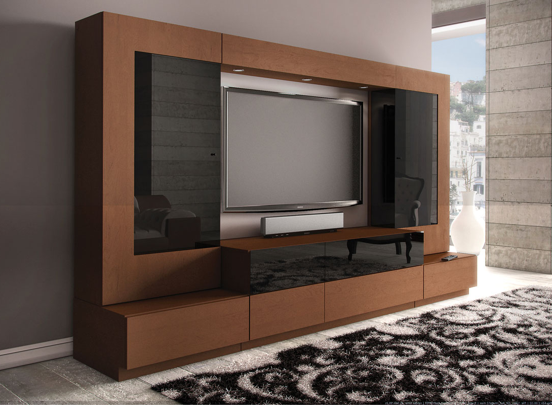 Led Tv Cabinets Pertaining To Most Current Wall Hanging Tv Cabinet Design Led Stand Modern 2015 Designs (View 20 of 20)