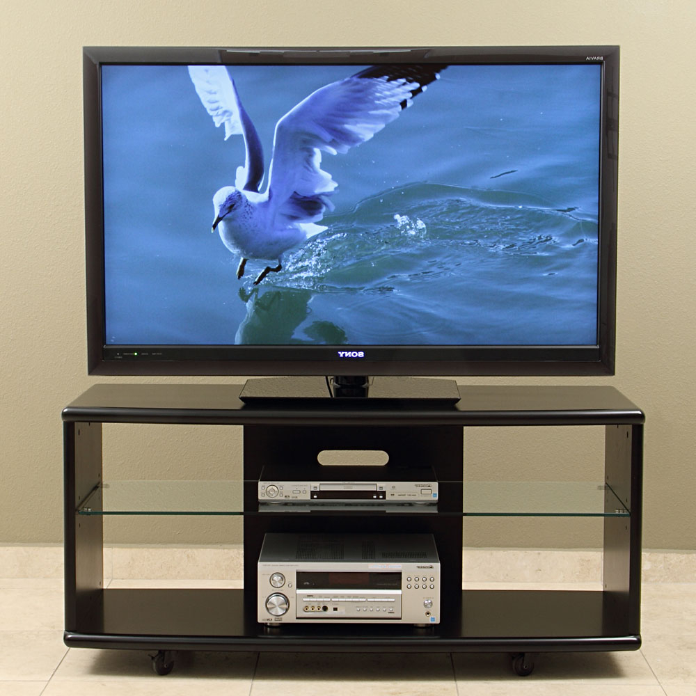 Led Tv Cabinets Within Well Liked Tv Stand/cart For Up To 55 Inch Plasma, Led/lcd Tvs (View 9 of 20)