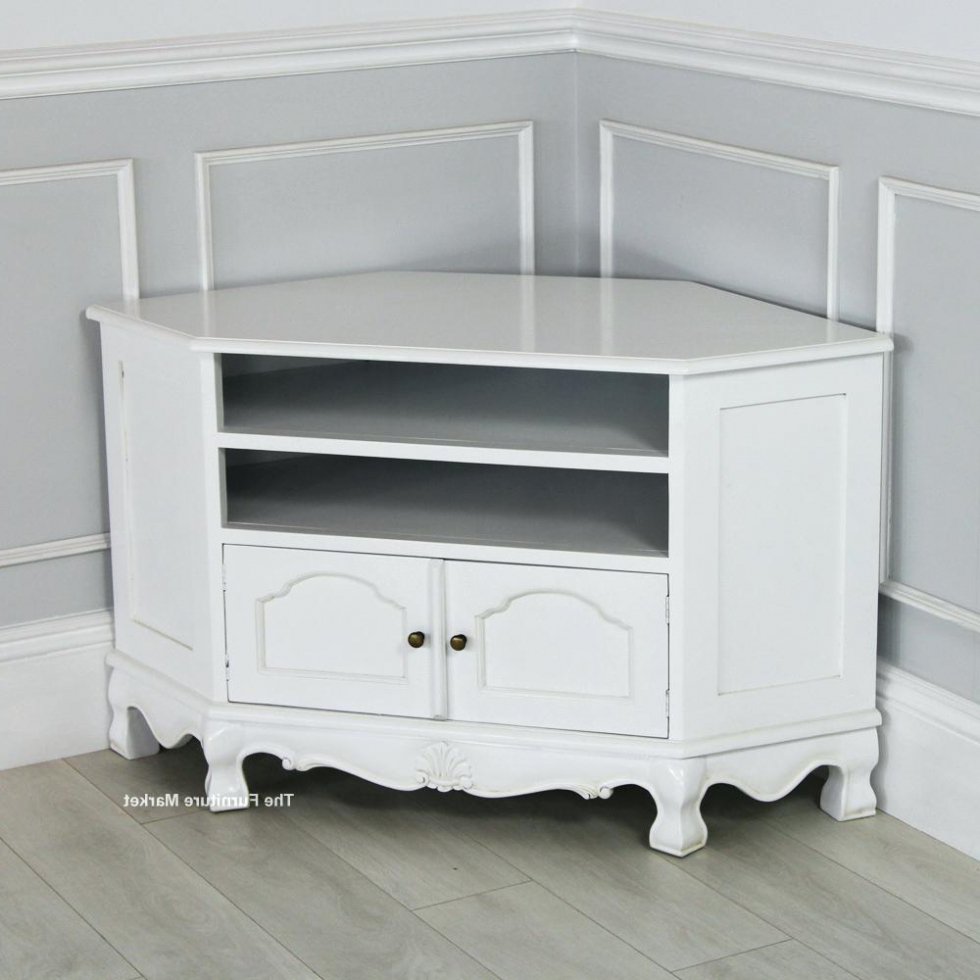 Living Room: White Tv Cabinet Corner Units Uk Stands Ikea With Throughout 2017 White Corner Tv Cabinets (Gallery 8 of 20)