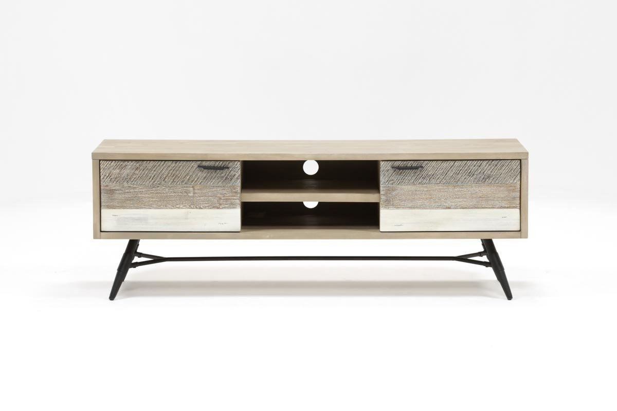 Living Spaces For Most Popular Caden 63 Inch Tv Stands (View 2 of 20)