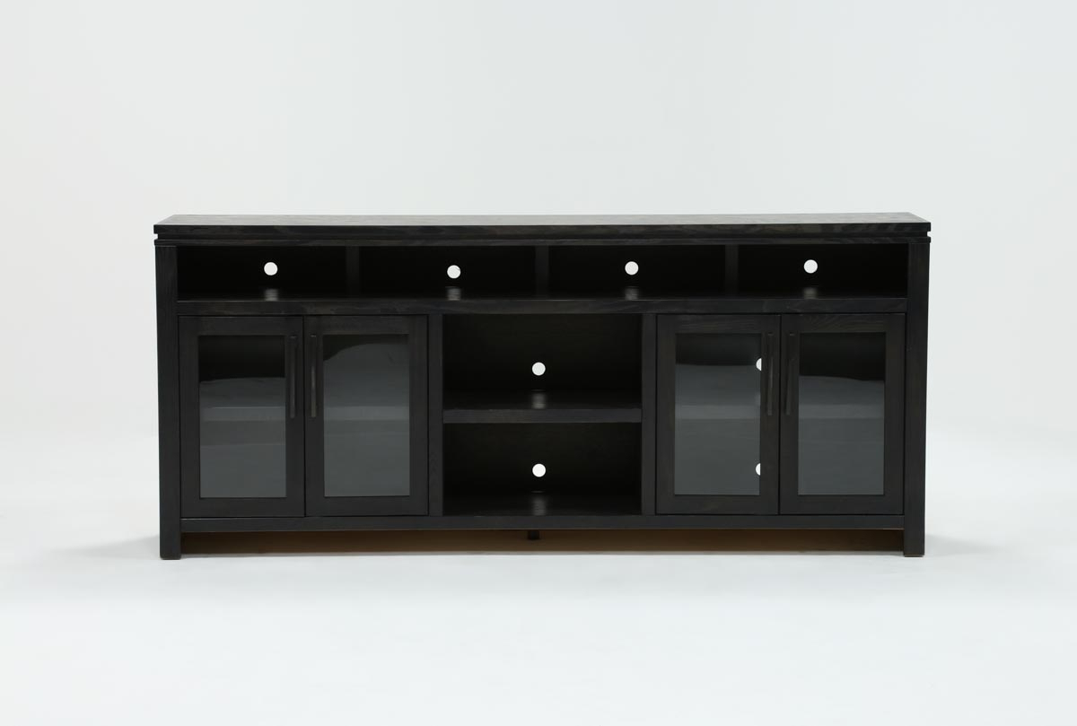 Living Spaces Intended For Best And Newest Ducar 84 Inch Tv Stands (View 20 of 20)