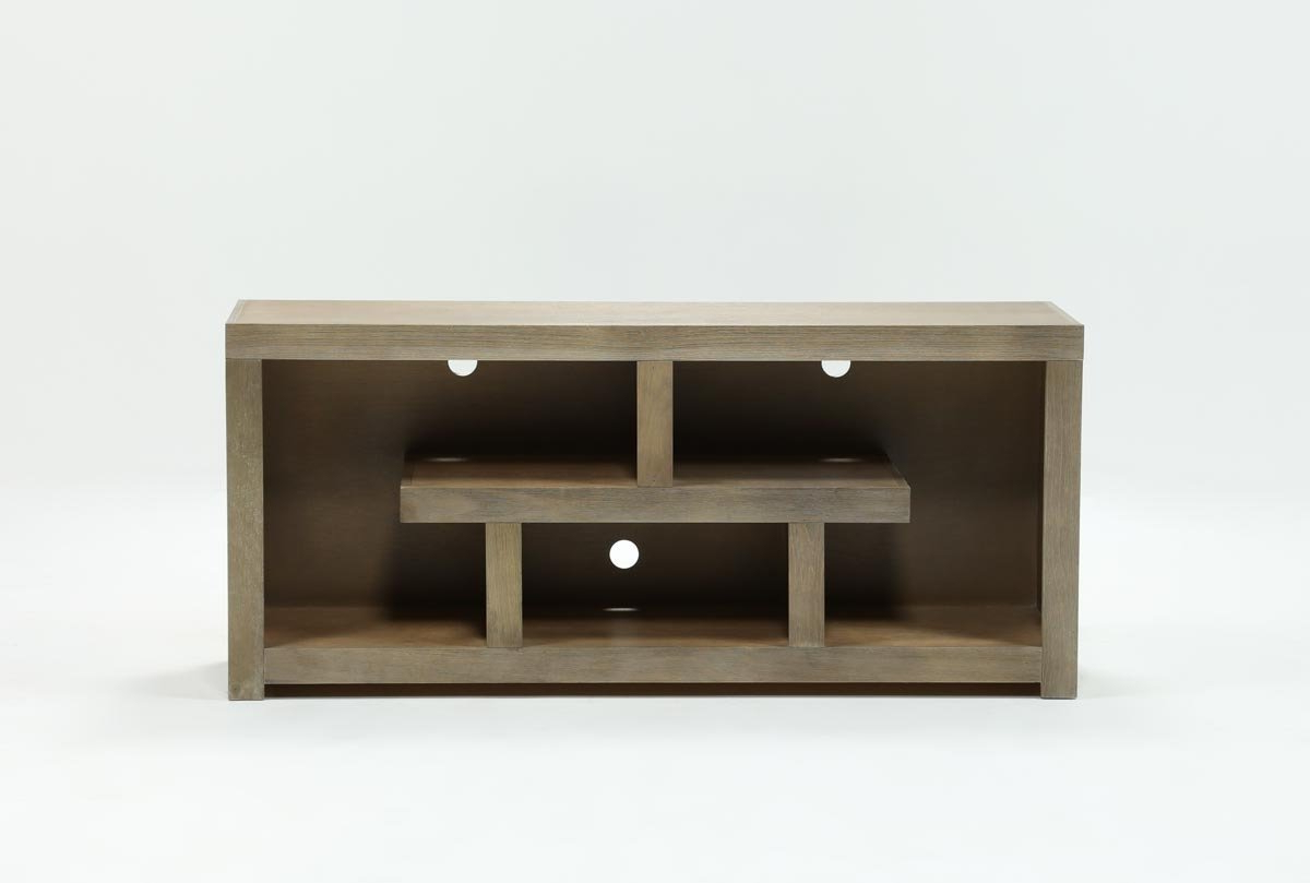 Living Spaces Within Most Popular Kilian Black 60 Inch Tv Stands (View 13 of 20)