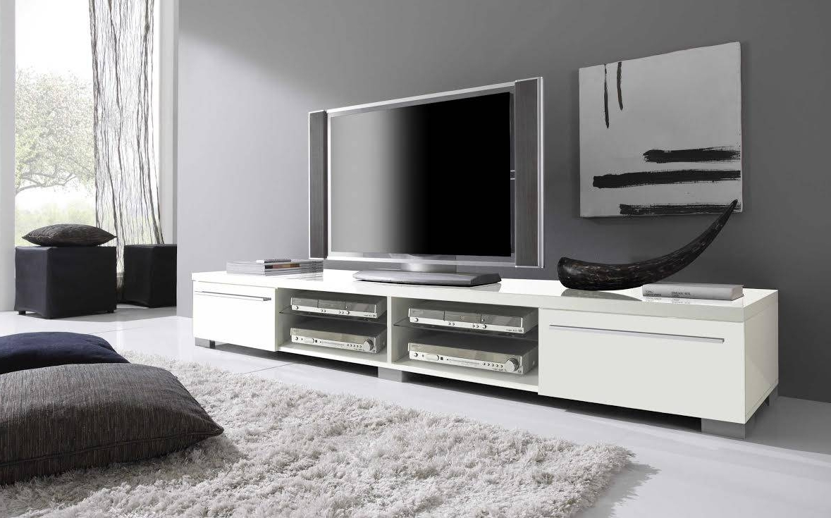 Long Low Tv Cabinets Pertaining To Fashionable Long Tv Stands, Low Stand Ebay, S L1000 Pertaining To Extra Stands (View 4 of 20)