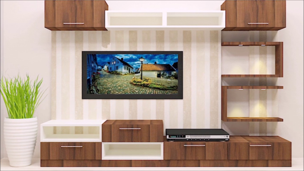 Low Level Tv Storage Units With Trendy Tv Unit & Cabinet Designs For Livng Room Online In India – Youtube (Gallery 20 of 20)