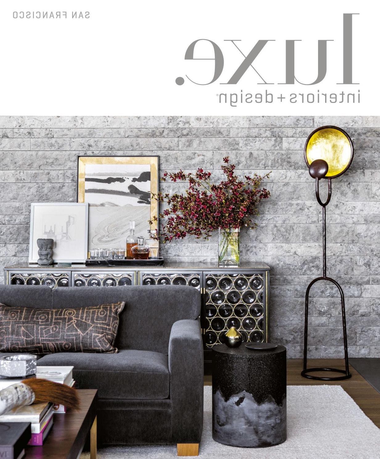 Luxe Magazine March 2017 San Franciscosandow® – Issuu Regarding 2017 Kilian Black 74 Inch Tv Stands (View 18 of 20)