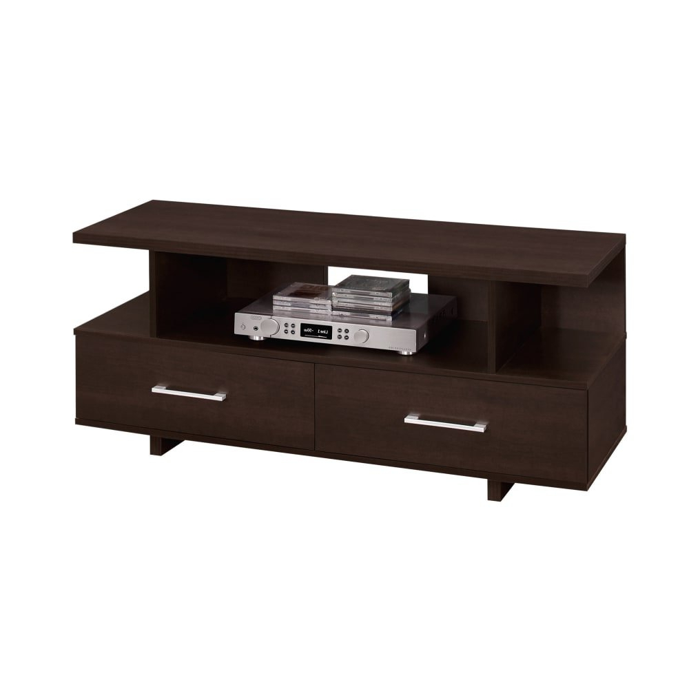 Maddy 60 Inch Tv Stands In Most Recently Released Shop Monarch Specialties I 2606 47 Inch X 15 Inch Wood Tv Stand (View 13 of 20)