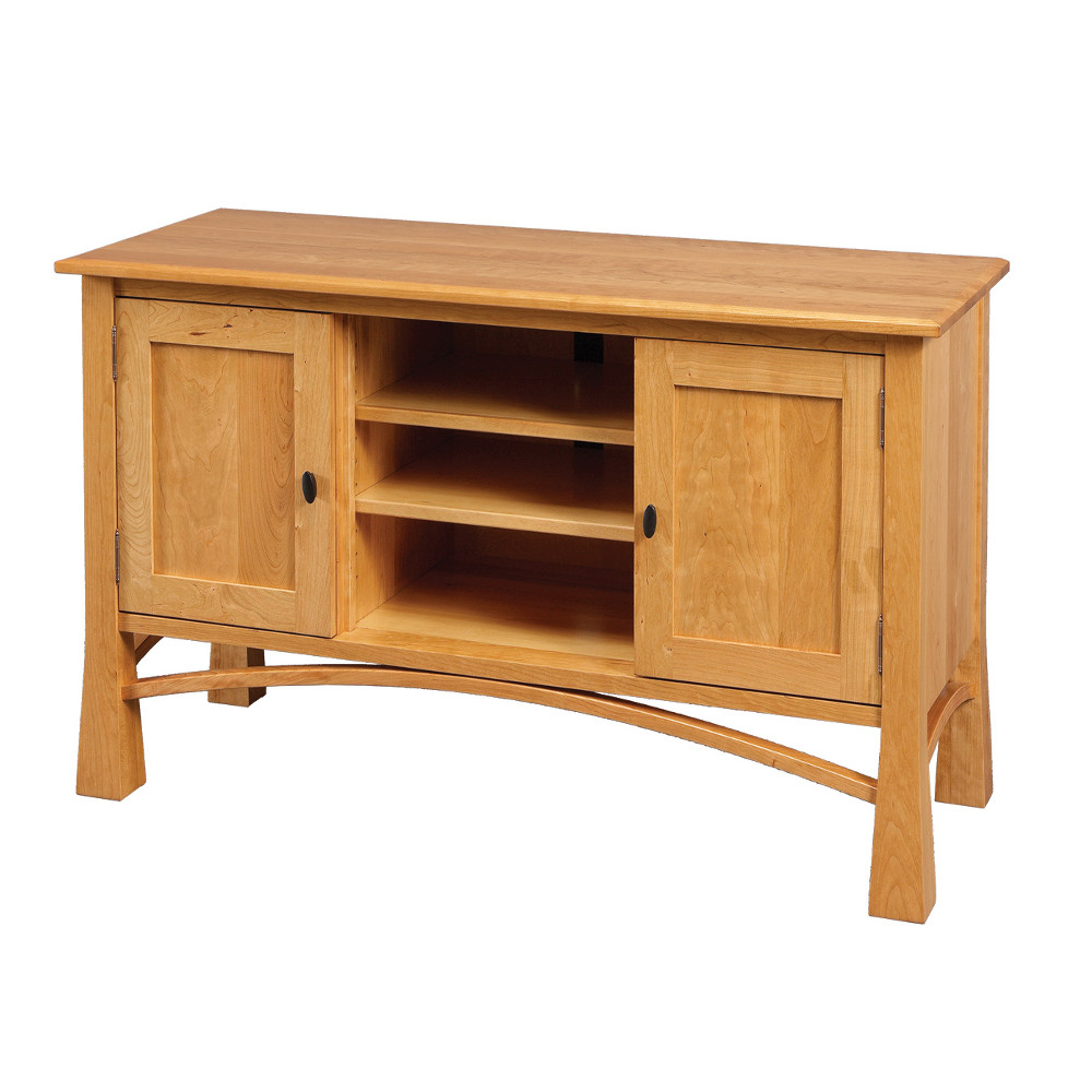 Madison Tv Stand – Amish Oak Furniture & Mattress Store Pertaining To Current Oak Furniture Tv Stands (View 4 of 20)