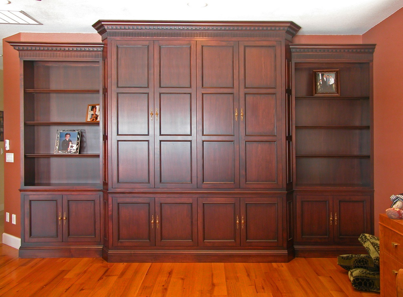 Mahogany Tv Cabinets In Recent Tv Media Cabinetry (View 11 of 20)
