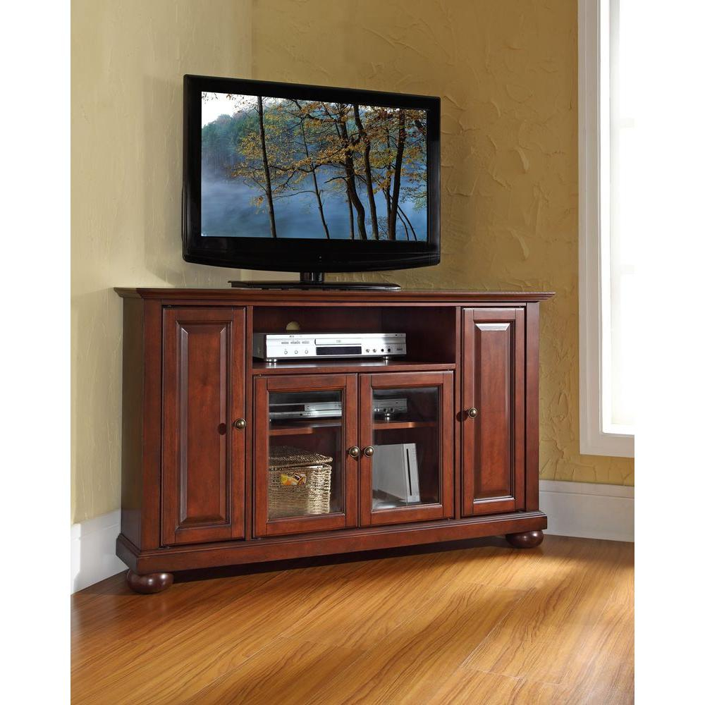 Mahogany Tv Stands With Regard To Well Known Crosley – Tv Stands – Living Room Furniture – The Home Depot (View 9 of 20)