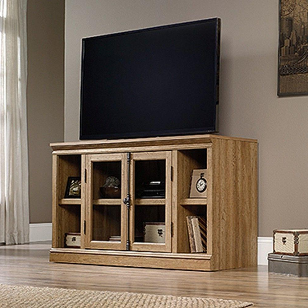 Maple Wood Tv Stands Inside Famous Entertainment Center – Oak – Tv Stands – Living Room Furniture – The (View 13 of 20)